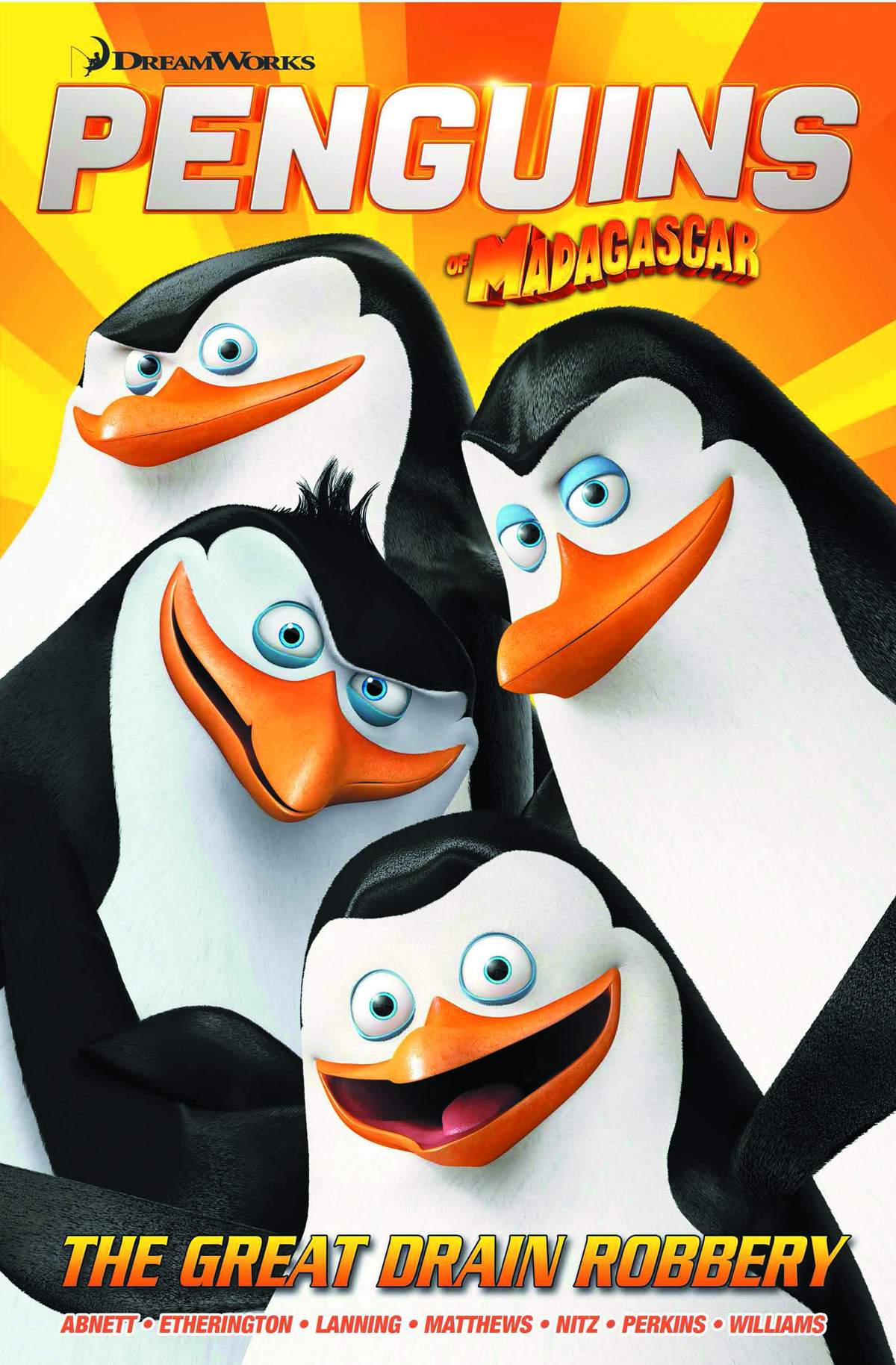 PENGUINS OF MADAGASCAR COLLECTION TP