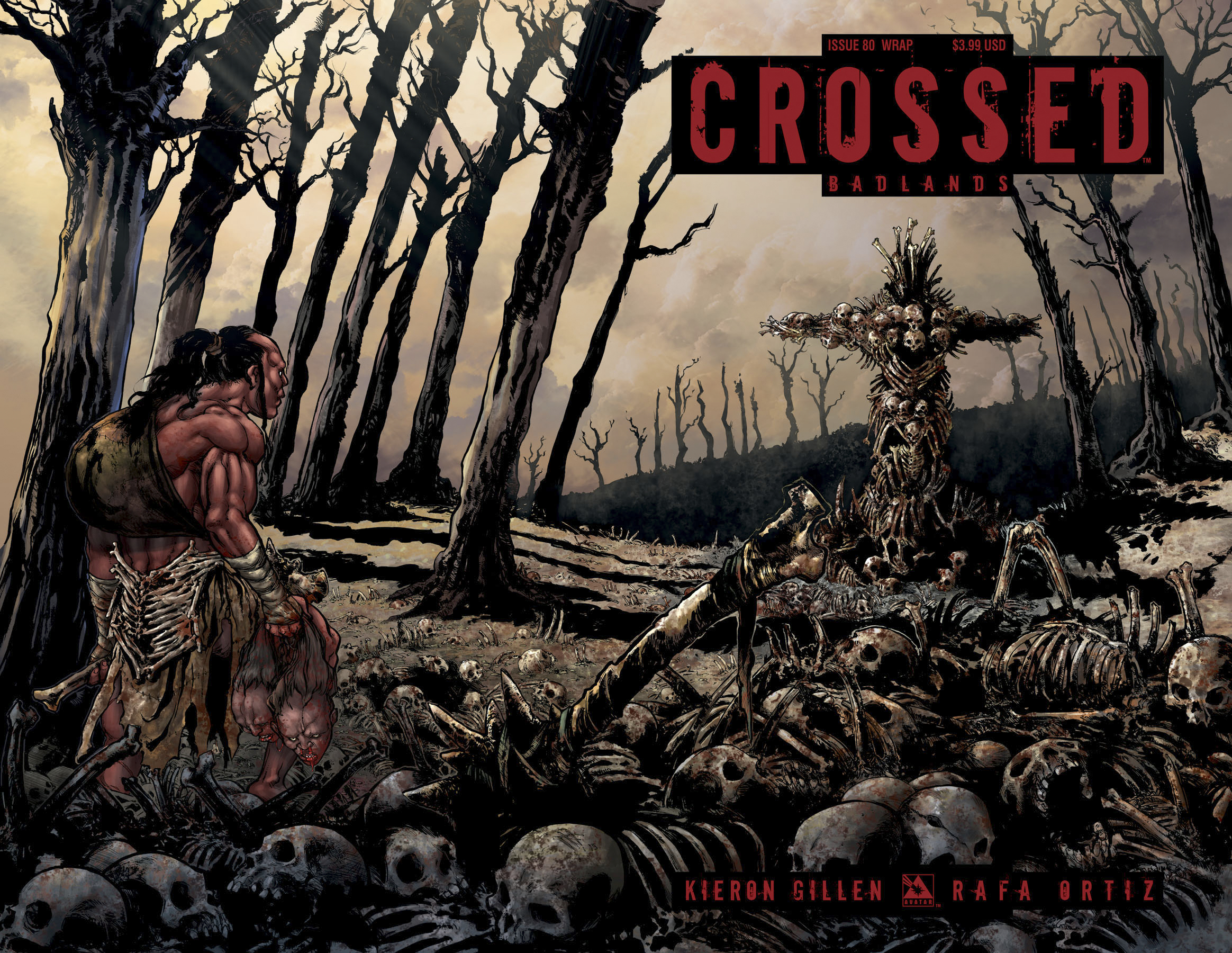 CROSSED BADLANDS #80 WRAP CVR (MR)