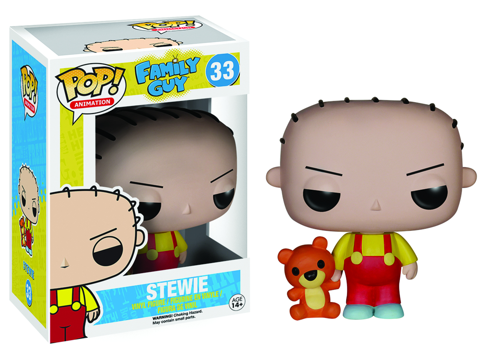 POP FAMILY GUY STEWIE GRIFFIN VINYL FIG