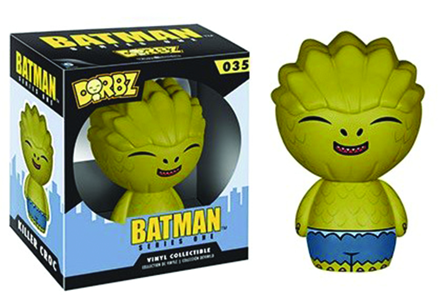 DORBZ BATMAN KILLER CROC VINYL FIG