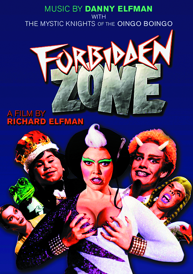 FORBIDDEN ZONE BD + CD