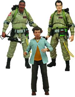 GHOSTBUSTERS SELECT AF SERIES 1 ASST
