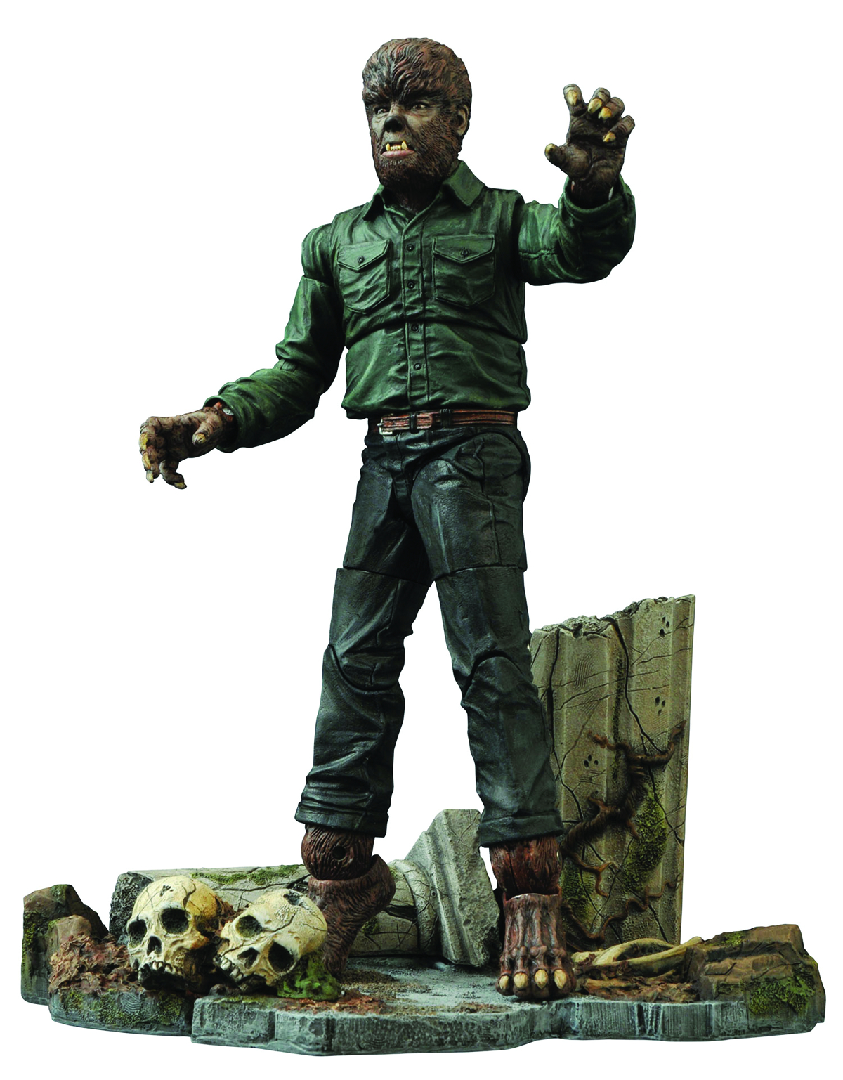 UNIVERSAL MONSTERS SELECT WOLFMAN VER 2 AF
