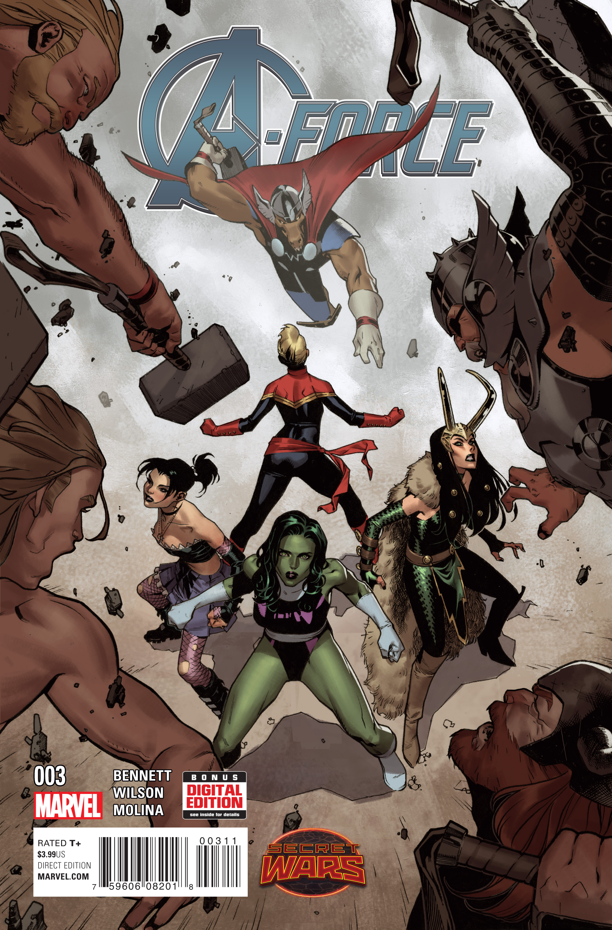 A-FORCE #3 SWA