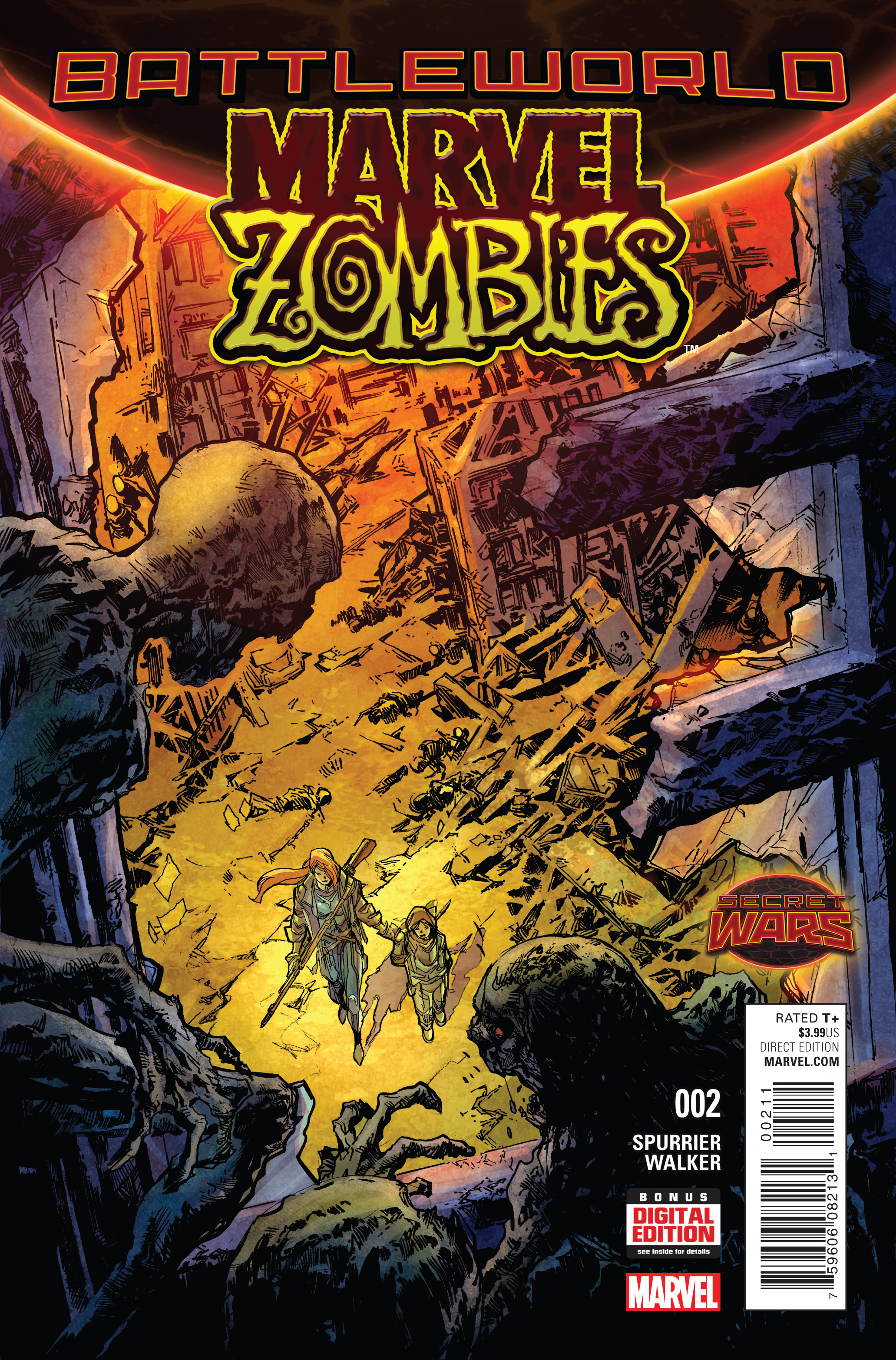 MARVEL ZOMBIES #2 SWA