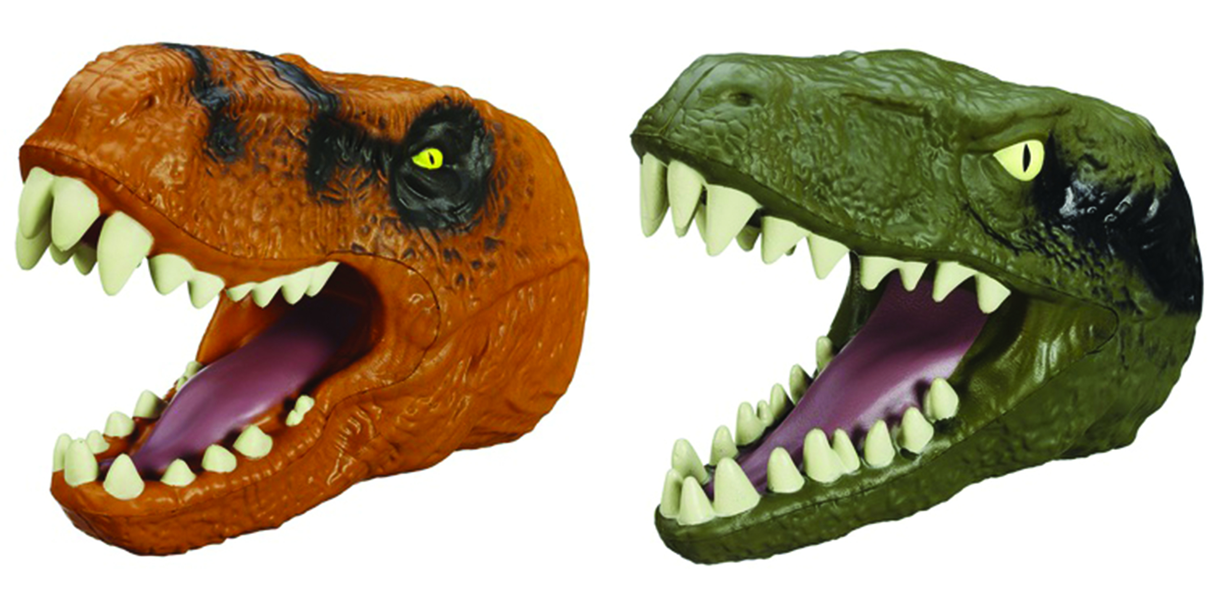 JURASSIC WORLD CHOMPING DINO HEAD ASST 201502