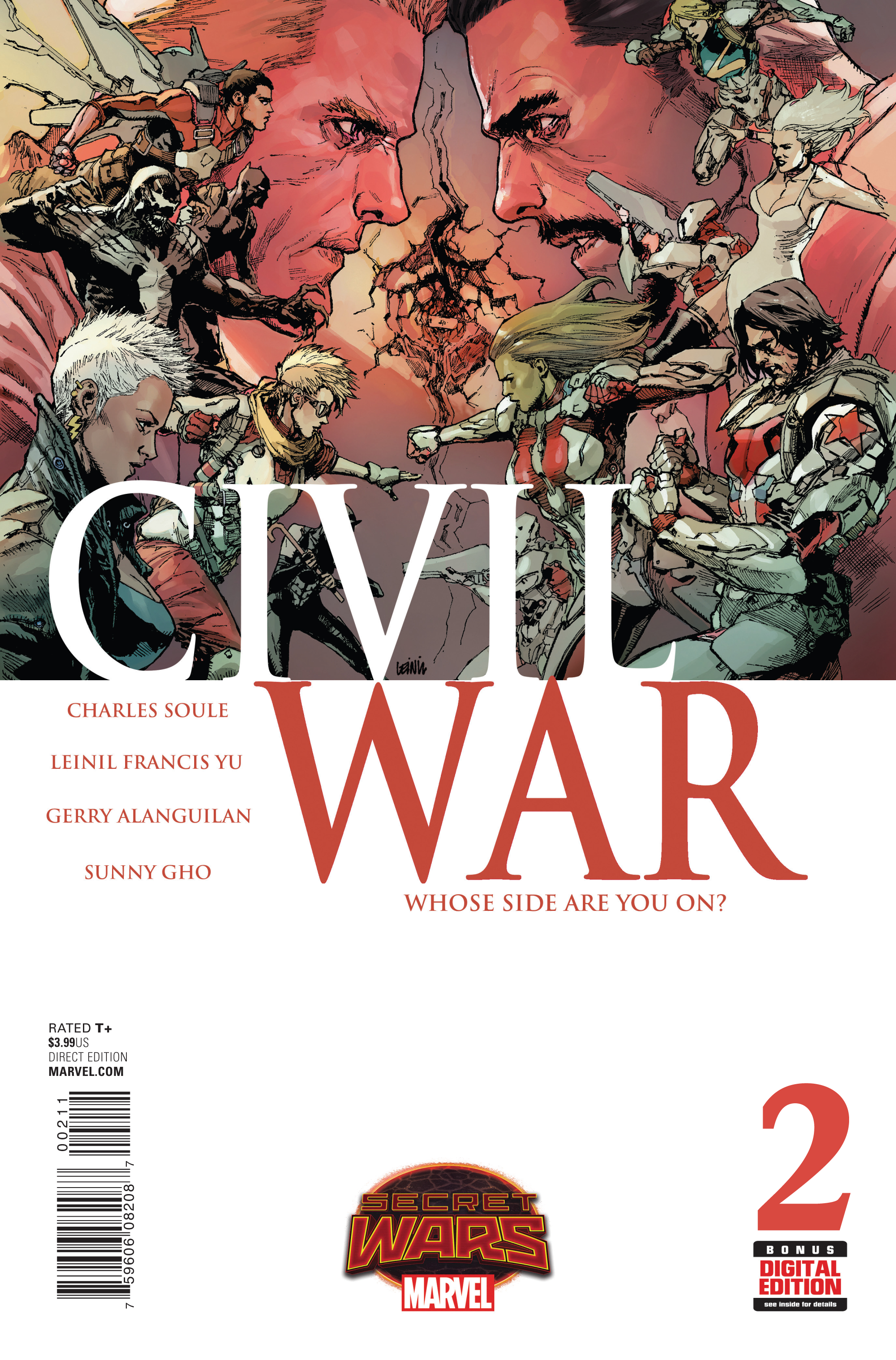 CIVIL WAR #2 SWA