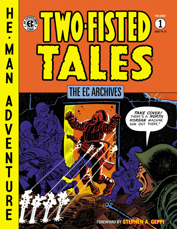 EC ARCHIVES TWO FISTED TALES HC VOL 01 (O/A)