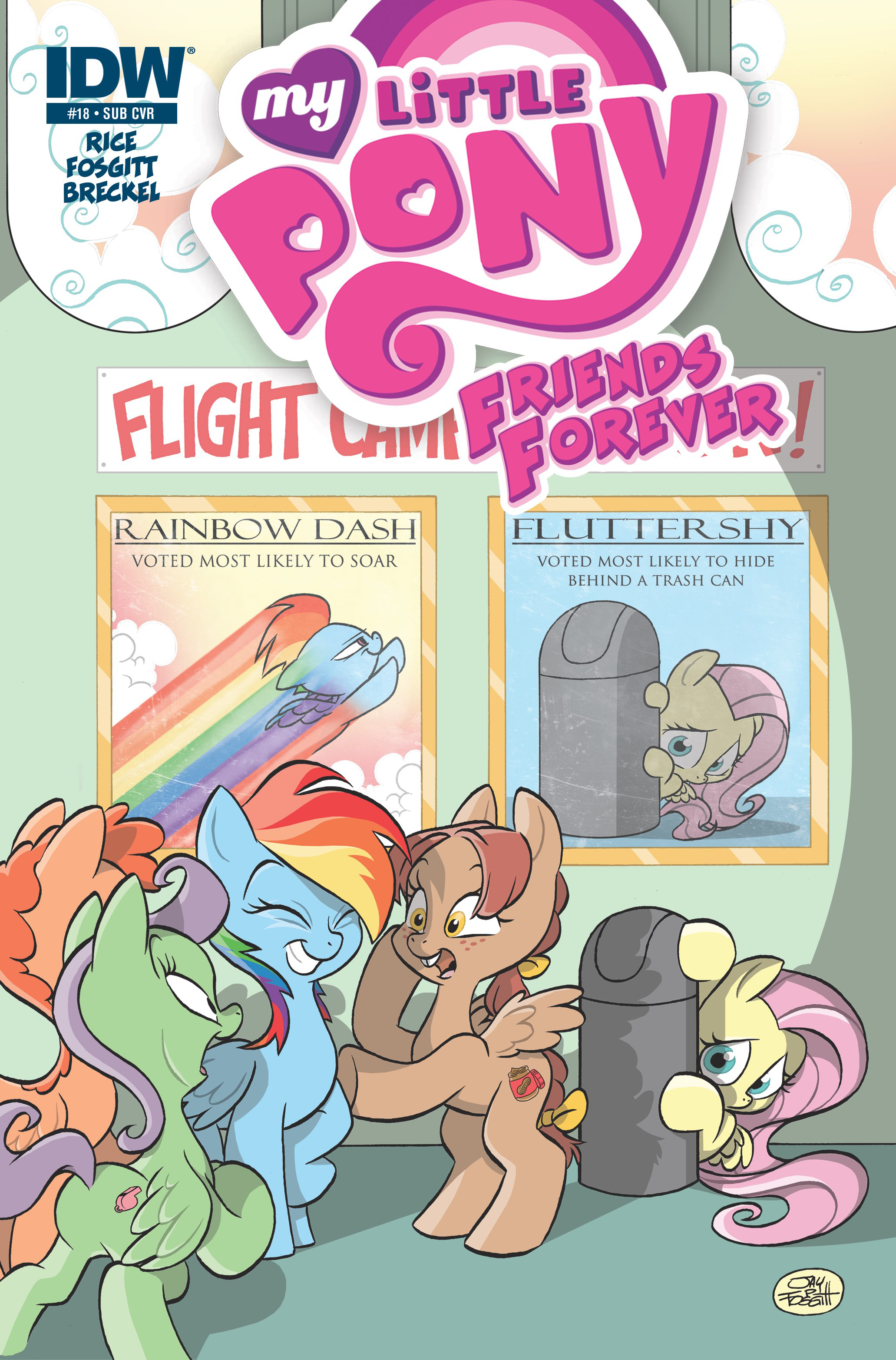 MY LITTLE PONY FRIENDS FOREVER #18 SUBSCRIPTION VAR
