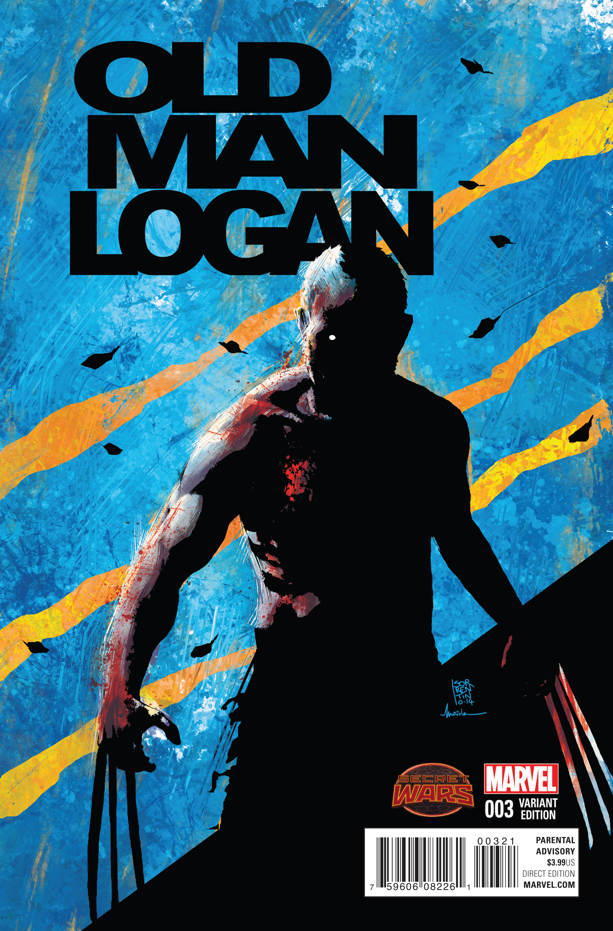 OLD MAN LOGAN #3 SORRENTINO VAR SWA