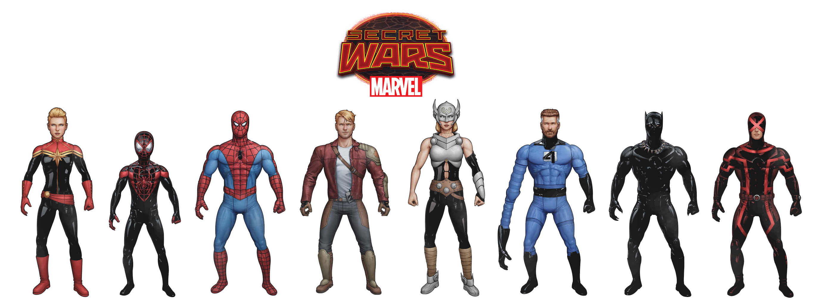 SECRET WARS BATTLE STANDEE ONE SHEETS (BUNDLE OF 25)  (