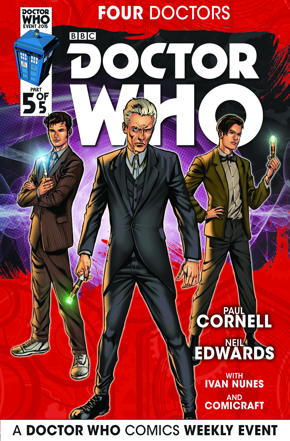 DOCTOR WHO 2015 FOUR DOCTORS #5 (OF 5) REG EDWARDS