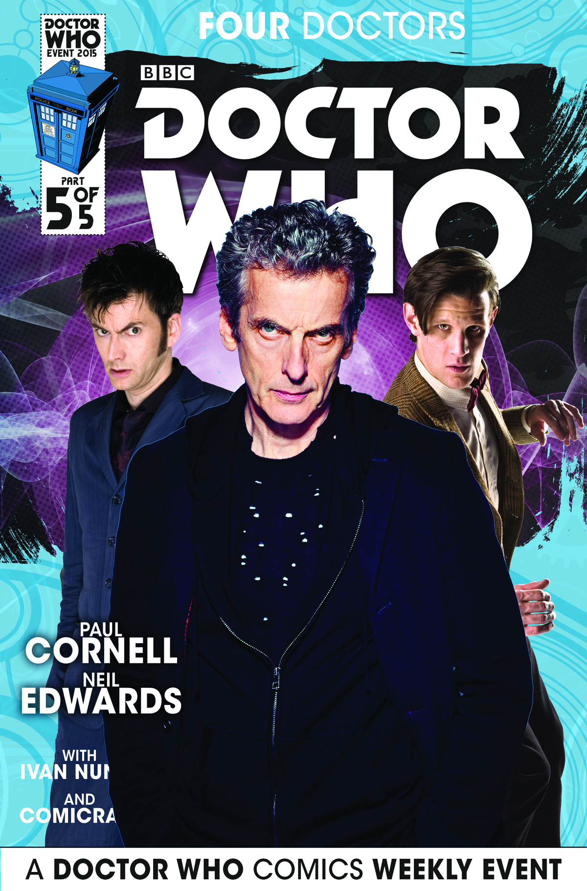 DOCTOR WHO 2015 FOUR DOCTORS #5 (OF 5) SUBSCRIPTION PHOTO (C