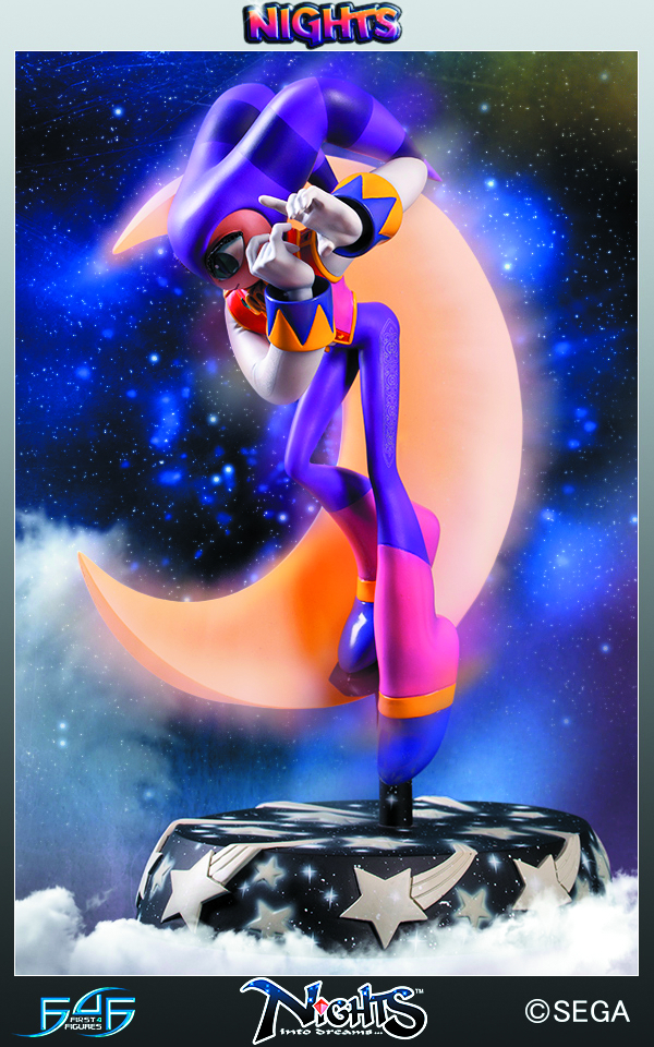 SEGA ALL-STARS NIGHTS STATUE