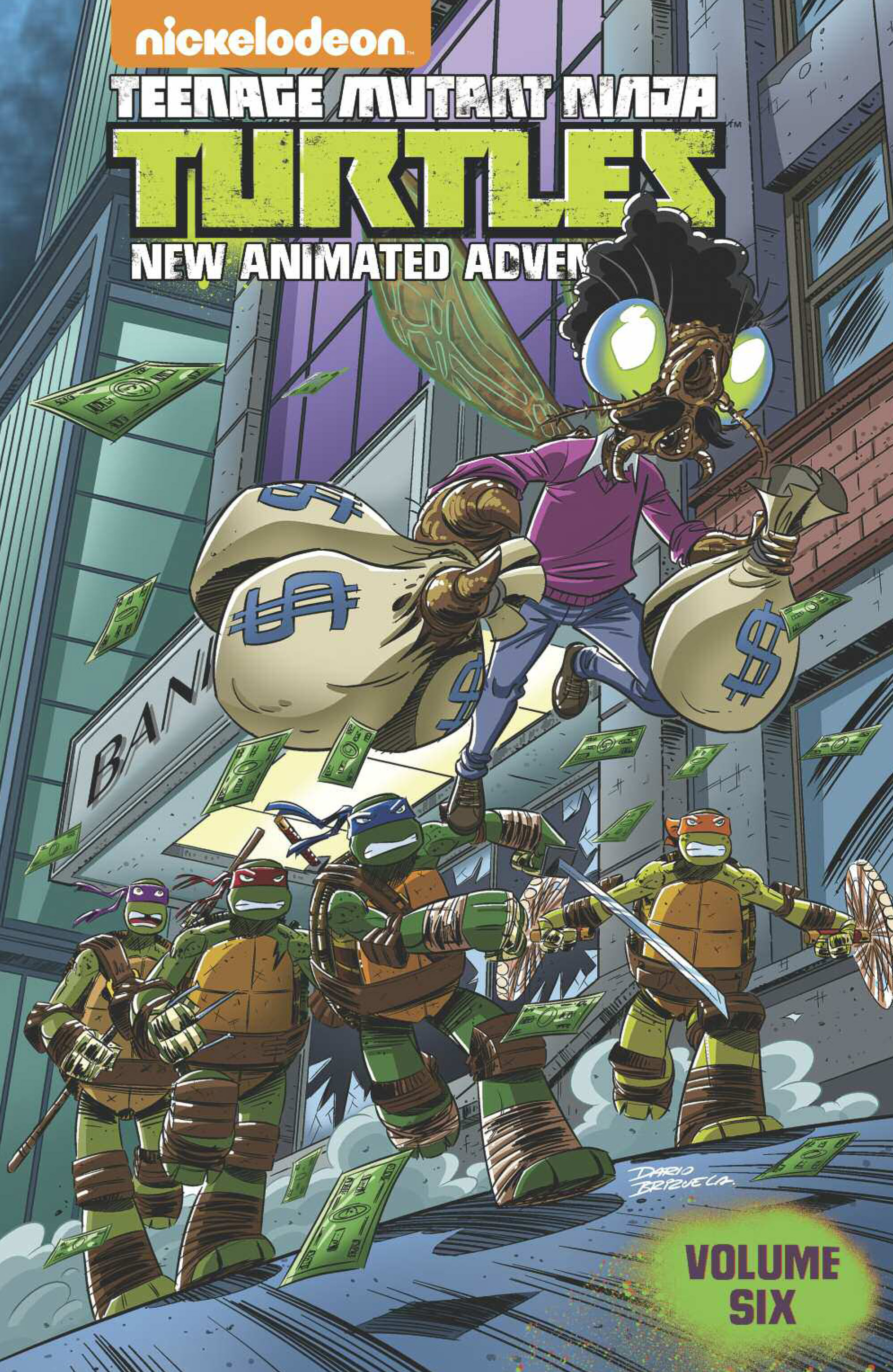 TMNT NEW ANIMATED ADVENTURES TP VOL 06