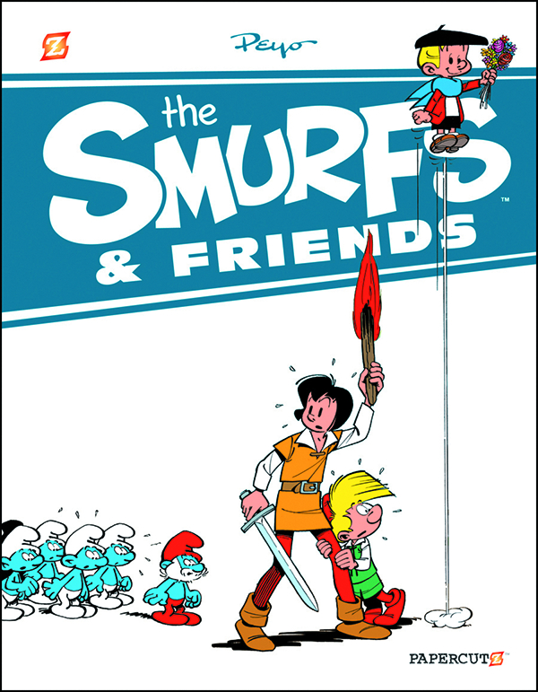 SMURFS AND FRIENDS HC VOL 01