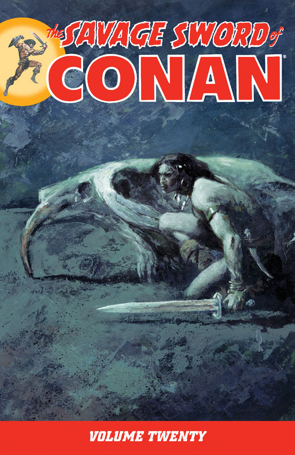 SAVAGE SWORD OF CONAN TP VOL 20