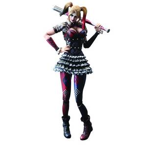 BATMAN ARKHAM KNIGHT PLAY ARTS KAI HARLEY QUINN