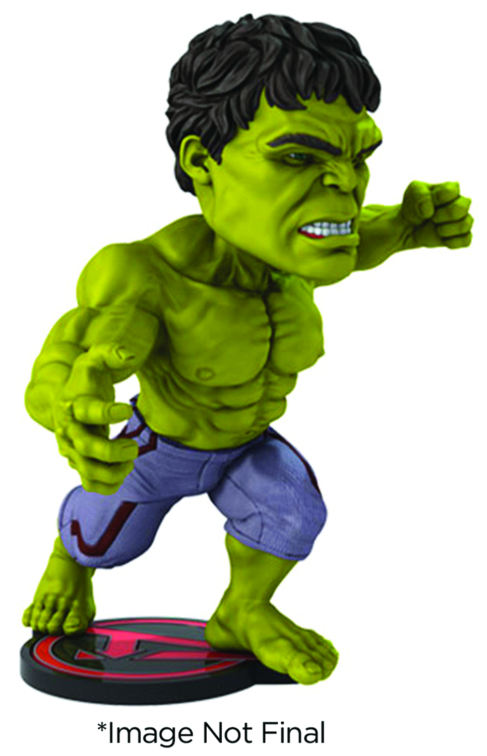AVENGERS AOU HULK EXTREME HEAD KNOCKER