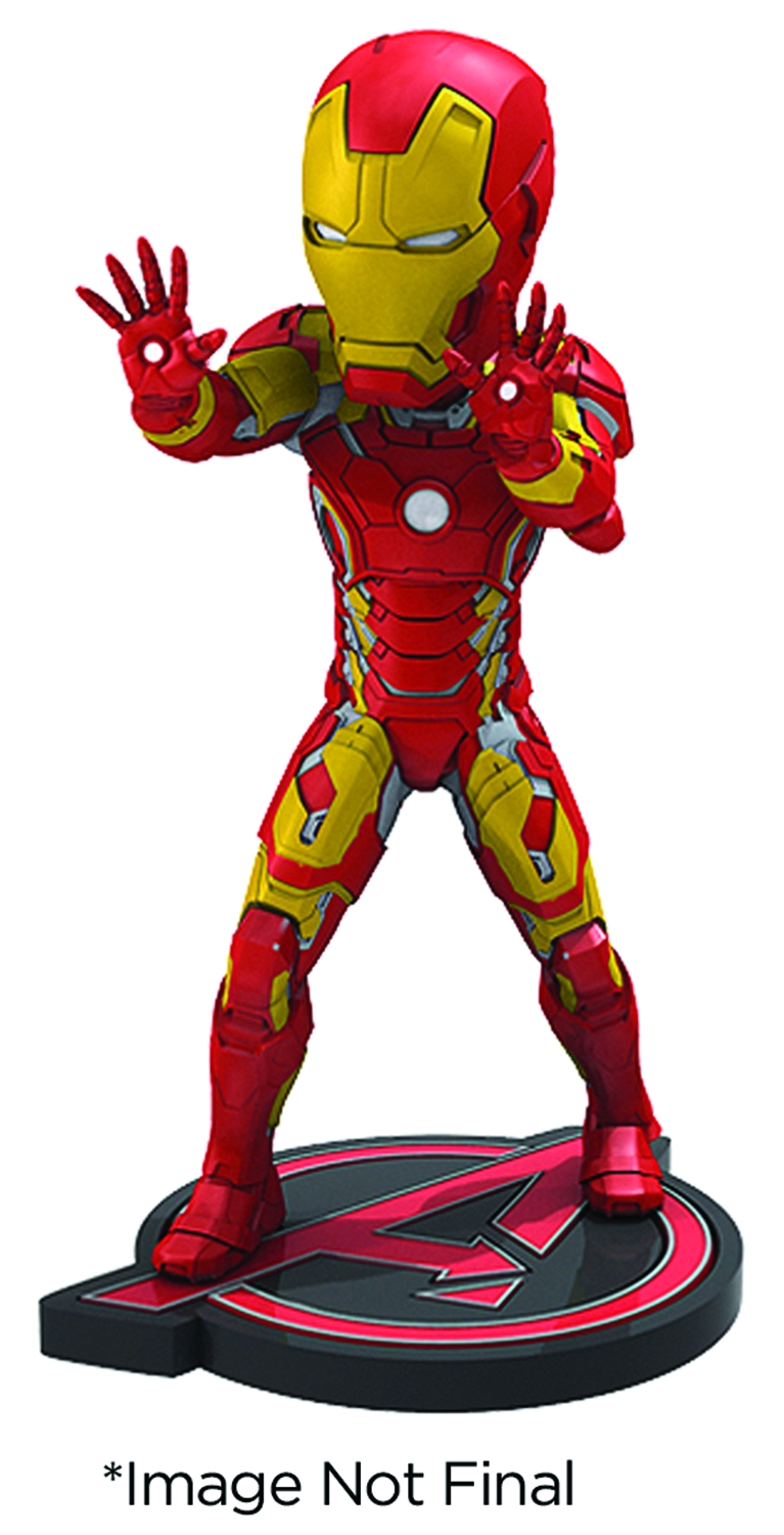AVENGERS AOU IRON MAN EXTREME HEAD KNOCKER