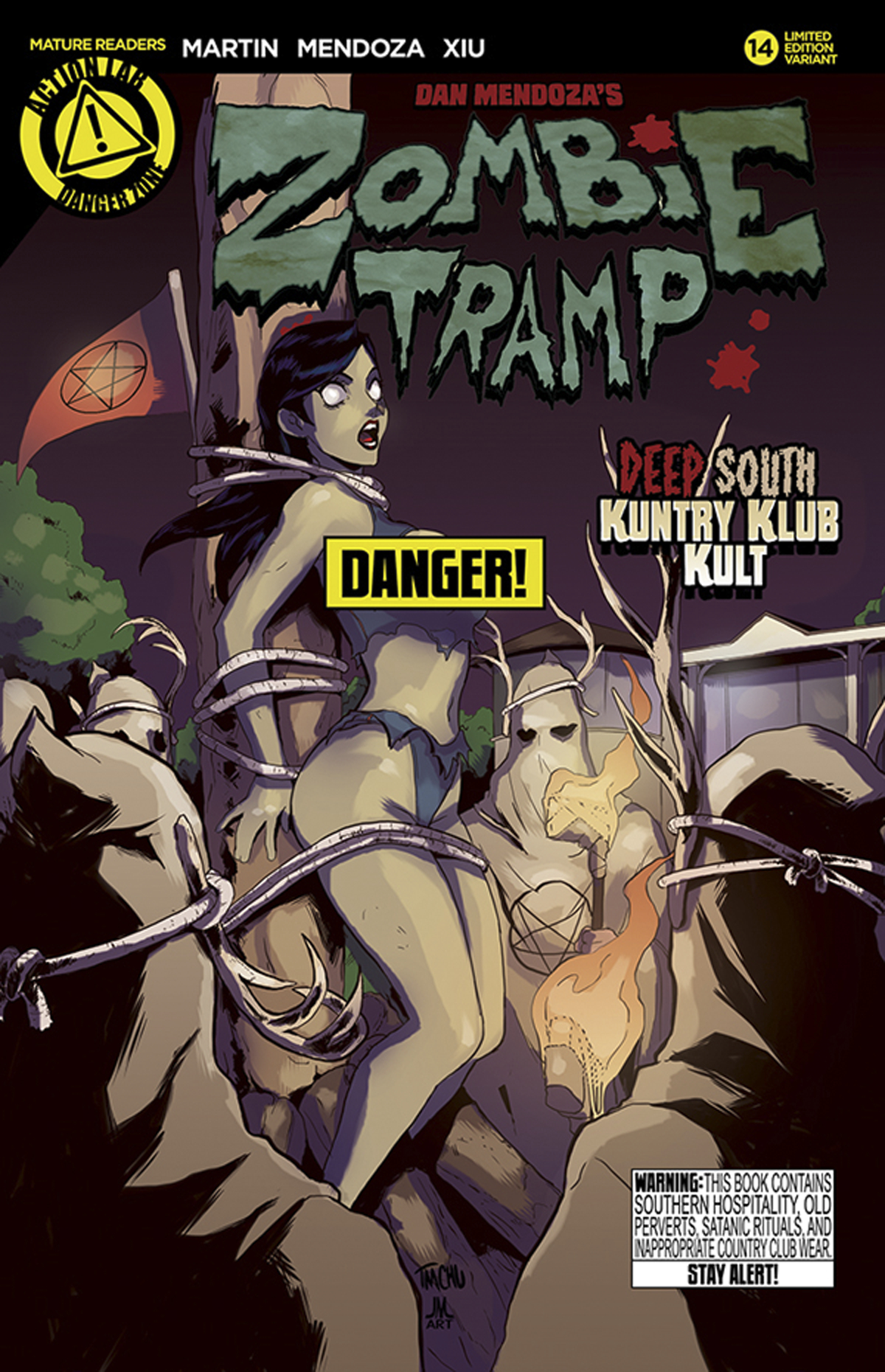 ZOMBIE TRAMP ONGOING #14 RISQUE VAR (MR)
