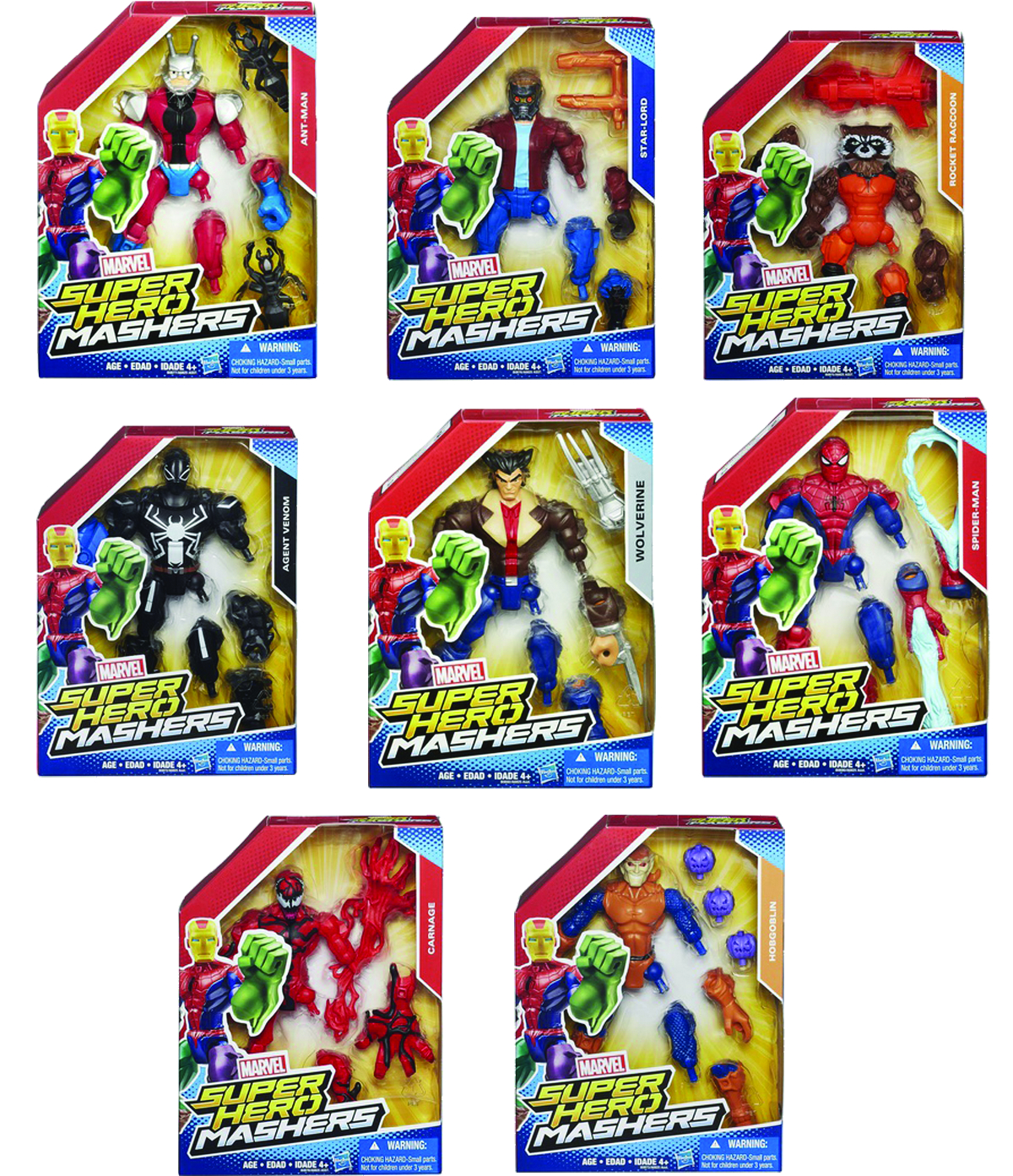 AVENGERS SUPER HERO MASHERS 6IN AF ASST 201504