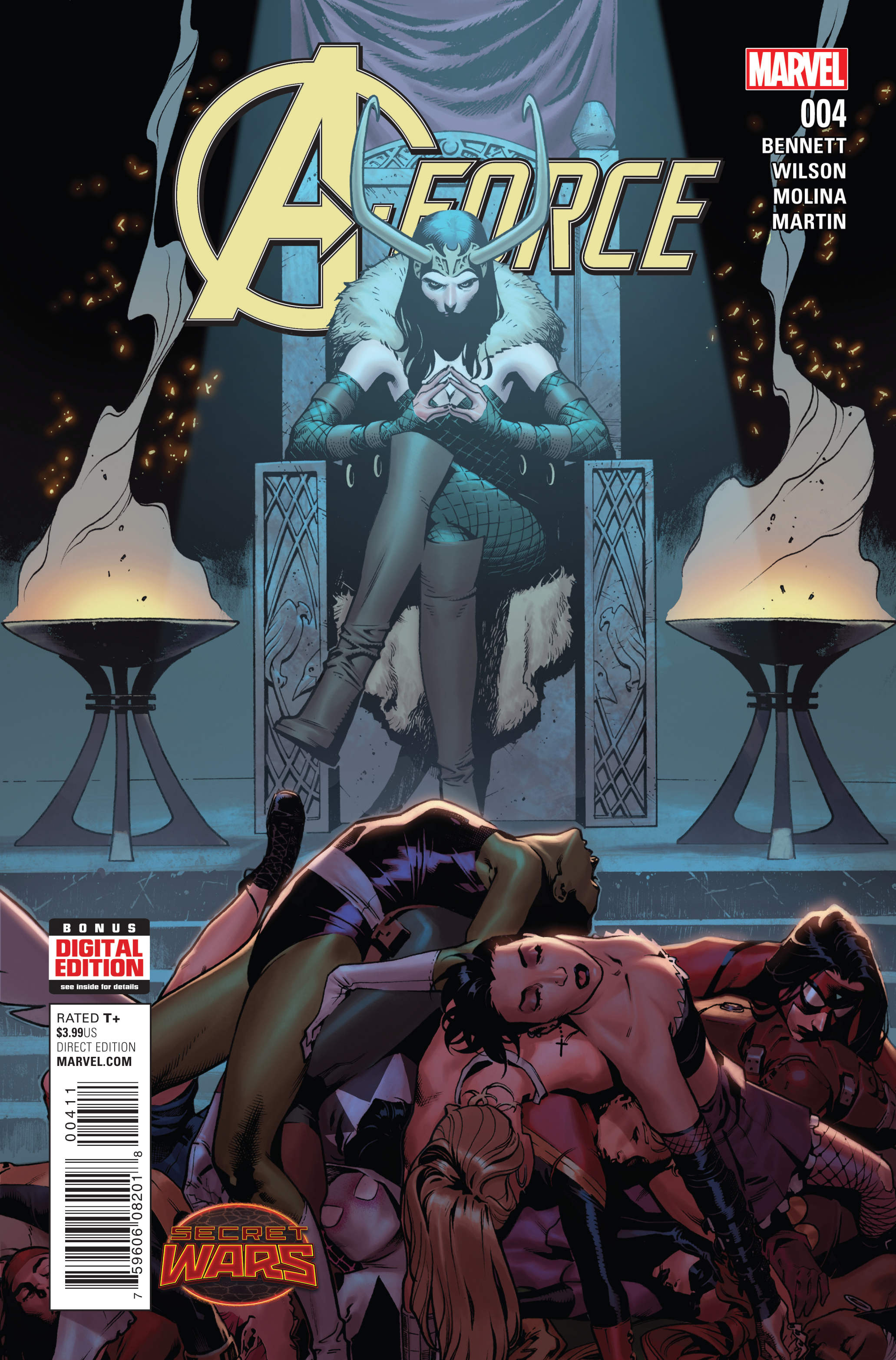 A-FORCE #4 SWA