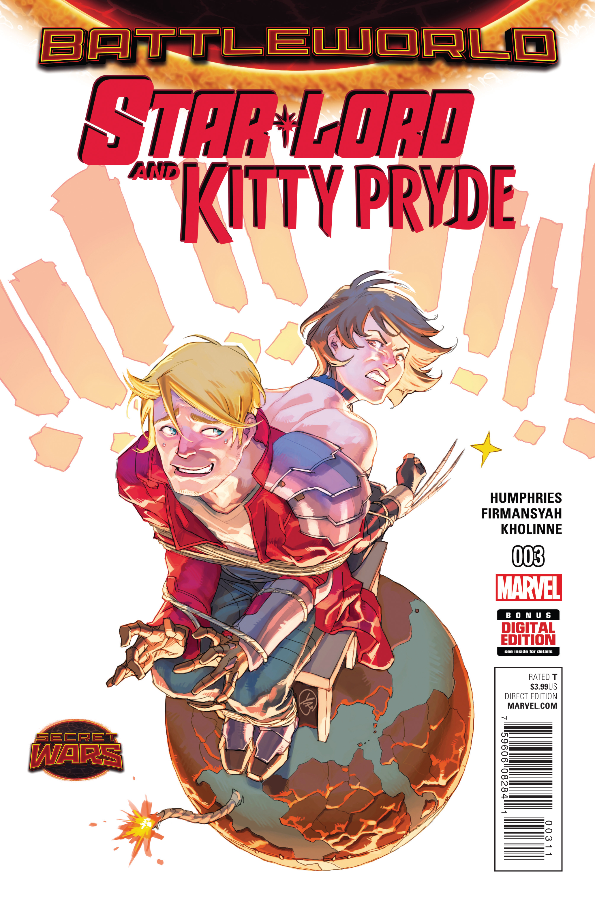 STAR-LORD AND KITTY PRYDE #3 SWA