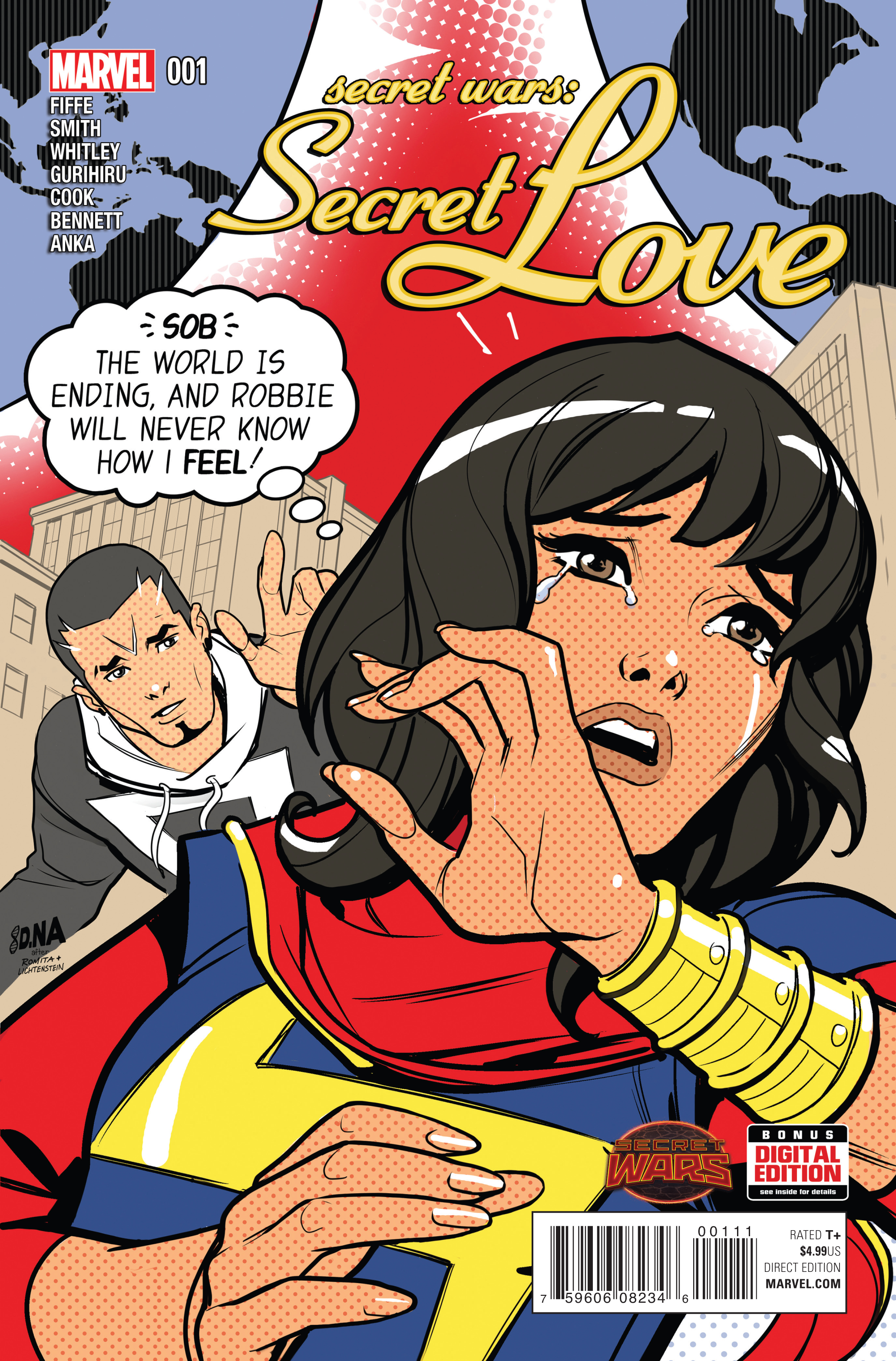 SECRET WARS SECRET LOVE #1 SWA