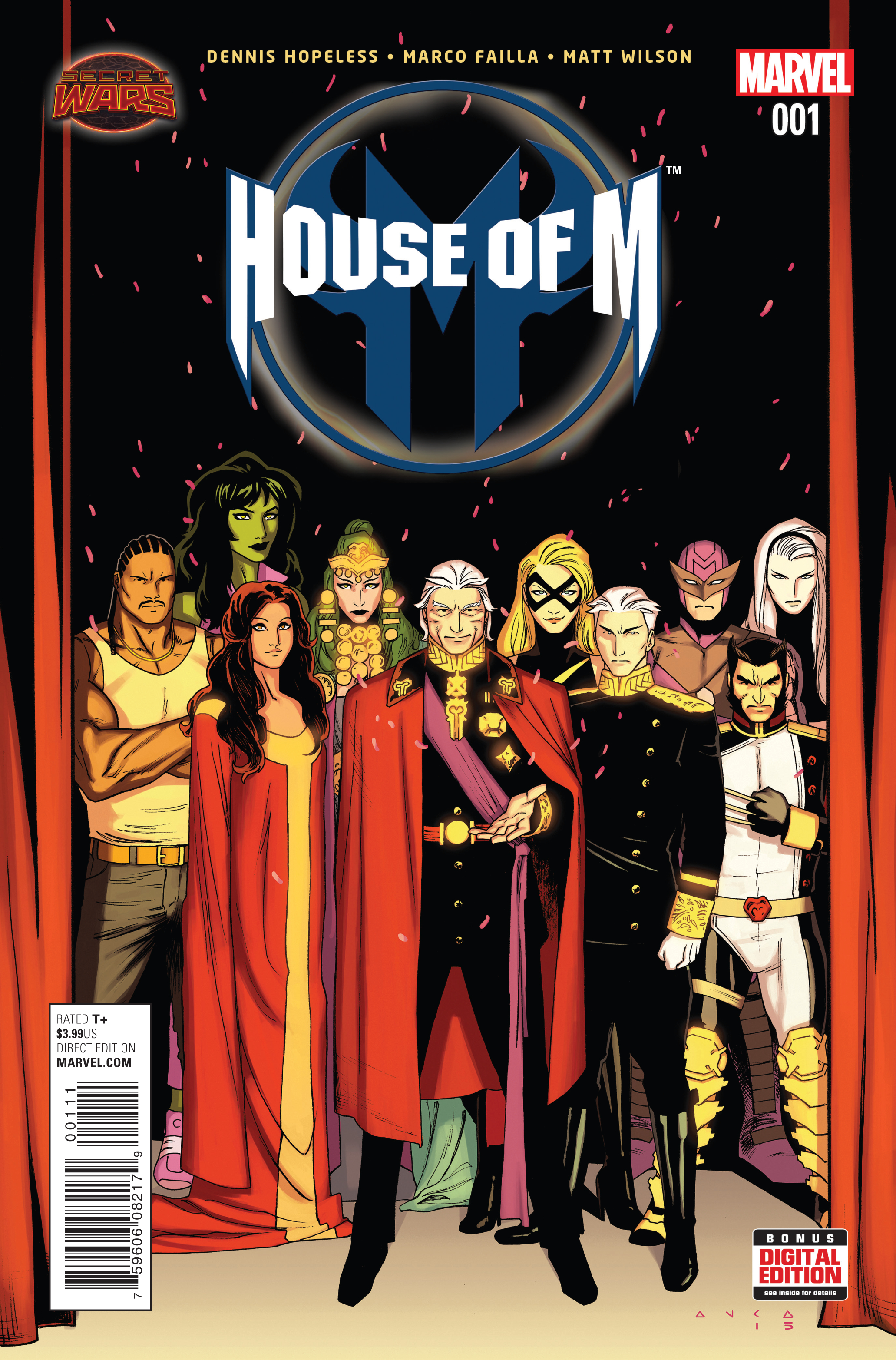 HOUSE OF M #1 SWA
