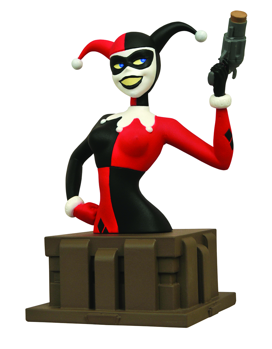 BATMAN ANIMATED SERIES HARLEY QUINN BUST