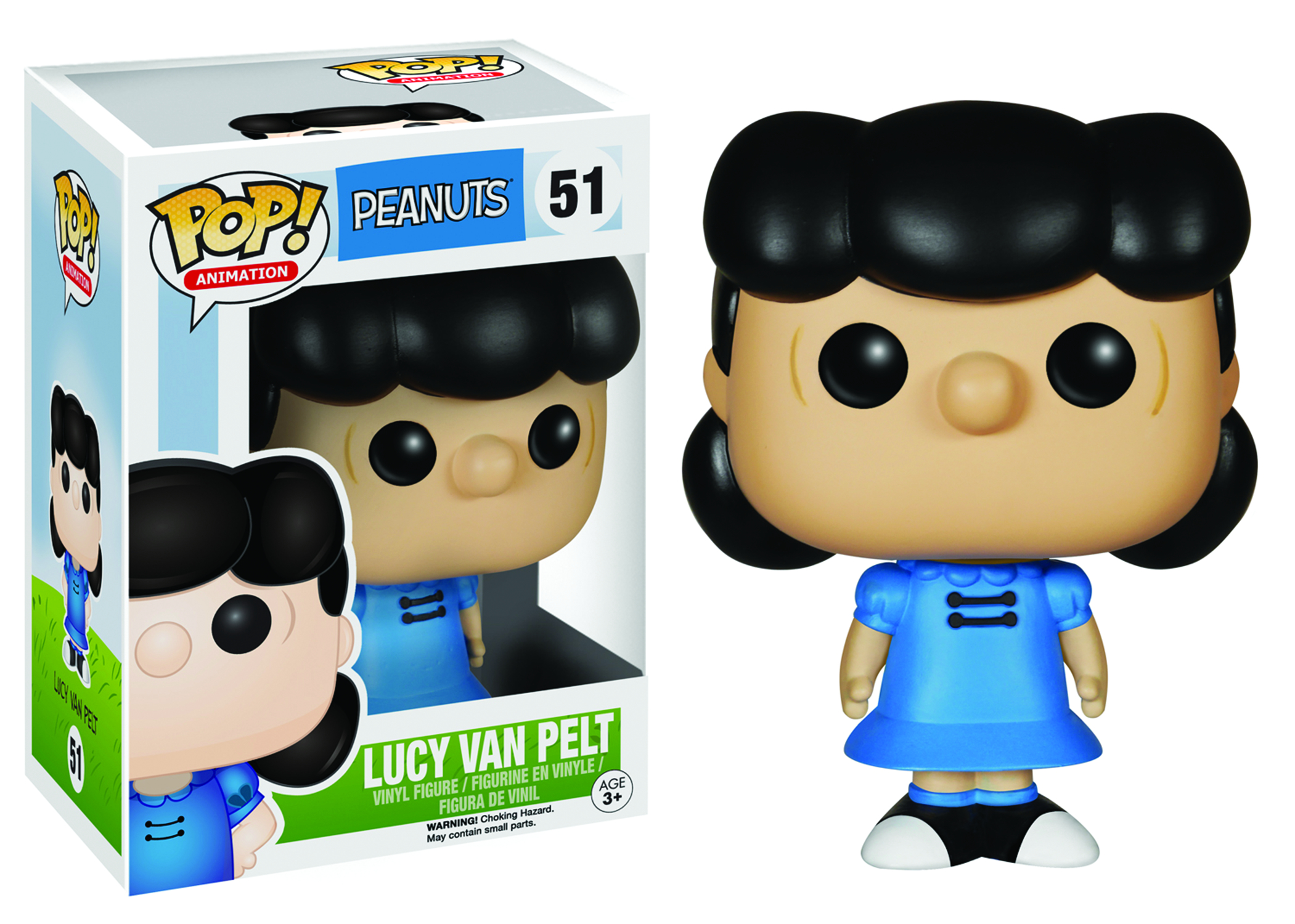 POP PEANUTS LUCY VAN PELT VINYL FIG
