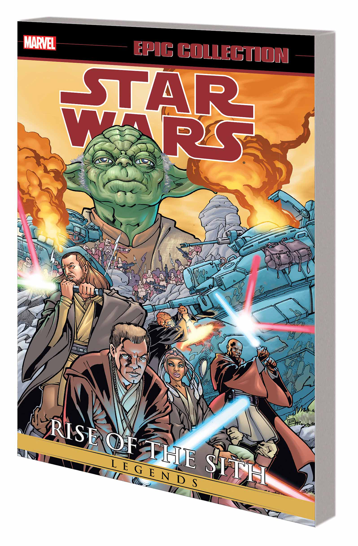STAR WARS LEGENDS EPIC COLLECTION RISE OF SITH TP VOL 01