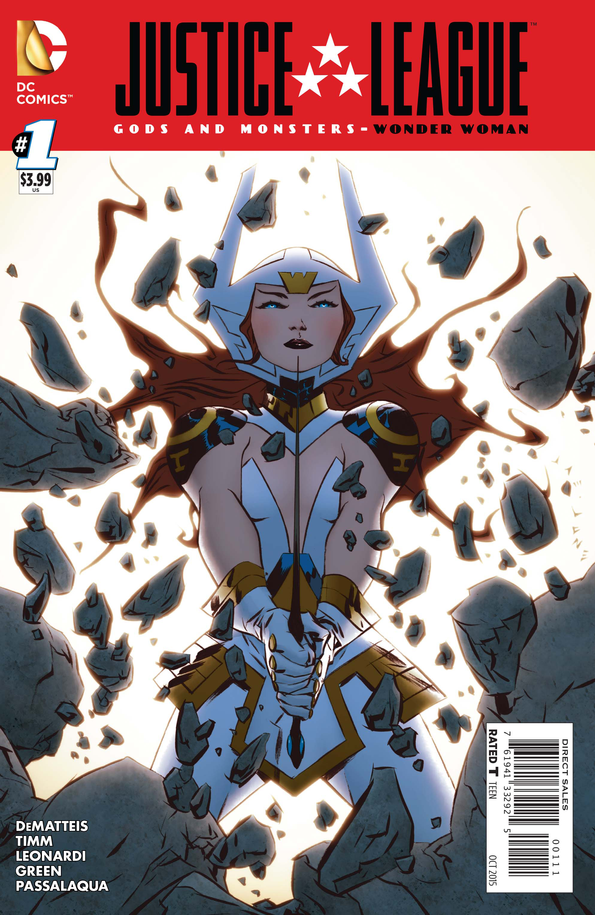JLA GODS AND MONSTERS WONDER WOMAN #1