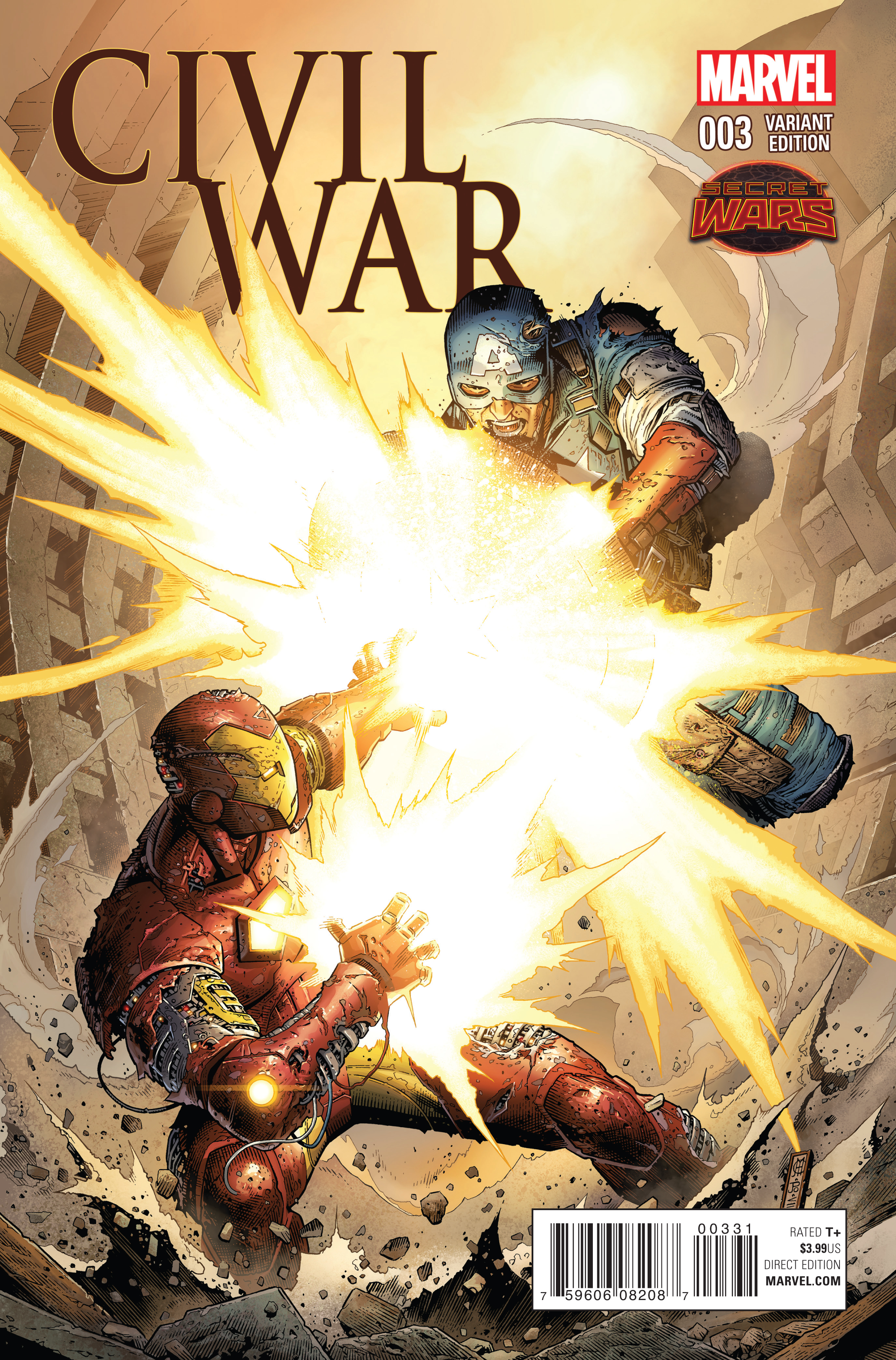 CIVIL WAR #3 VAR SWA