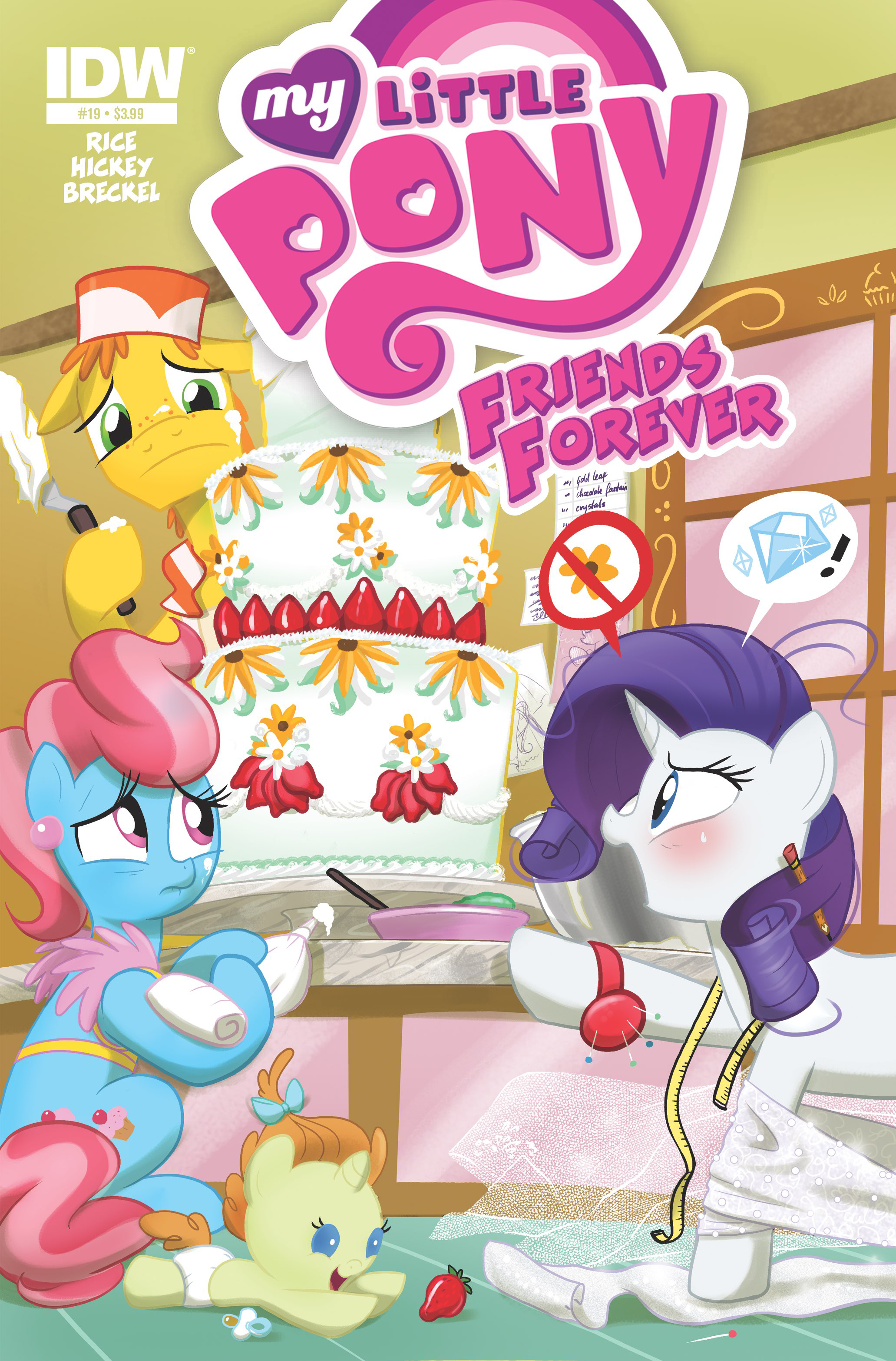 MY LITTLE PONY FRIENDS FOREVER #19