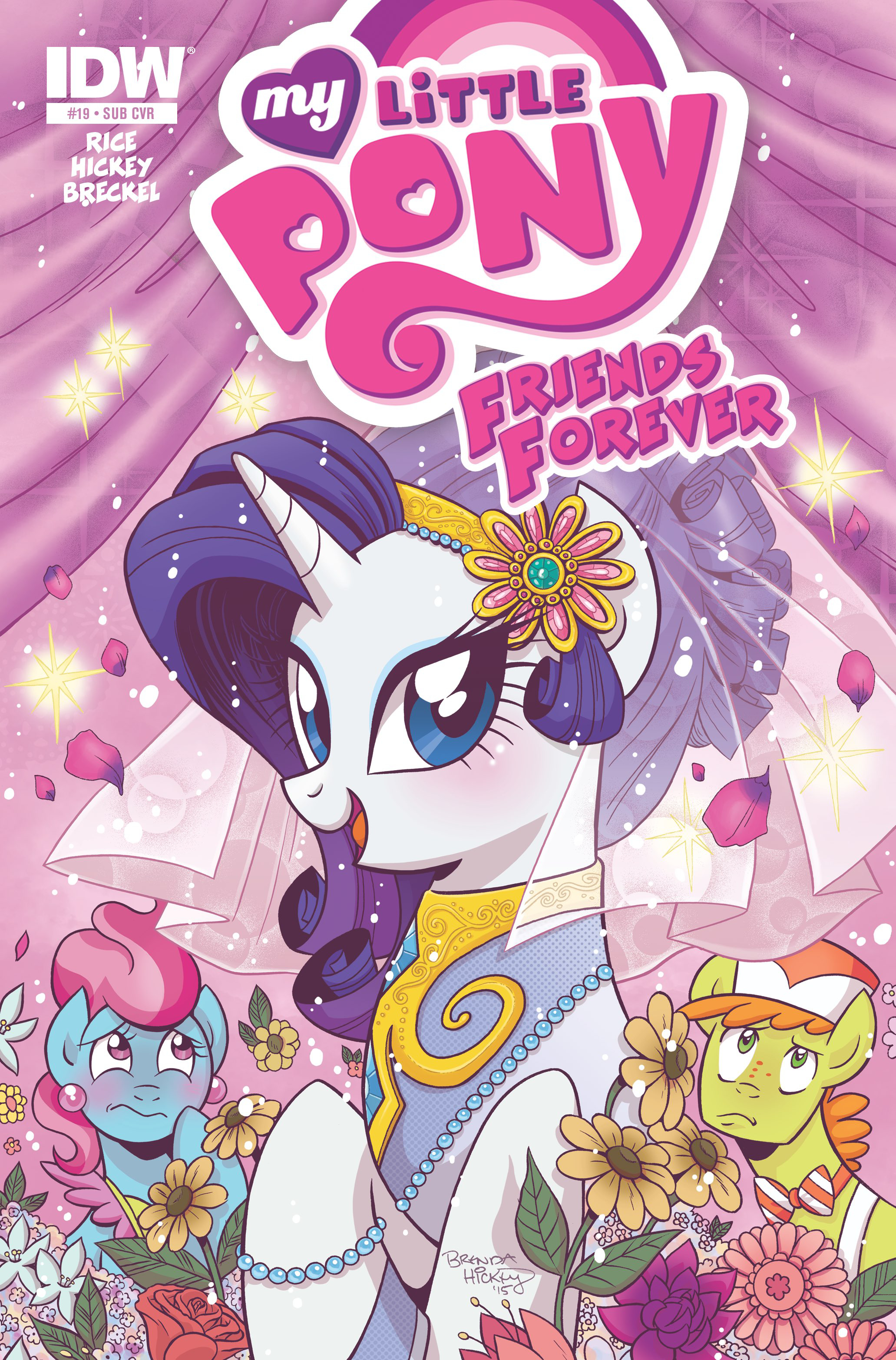 MY LITTLE PONY FRIENDS FOREVER #19 SUBSCRIPTION VAR