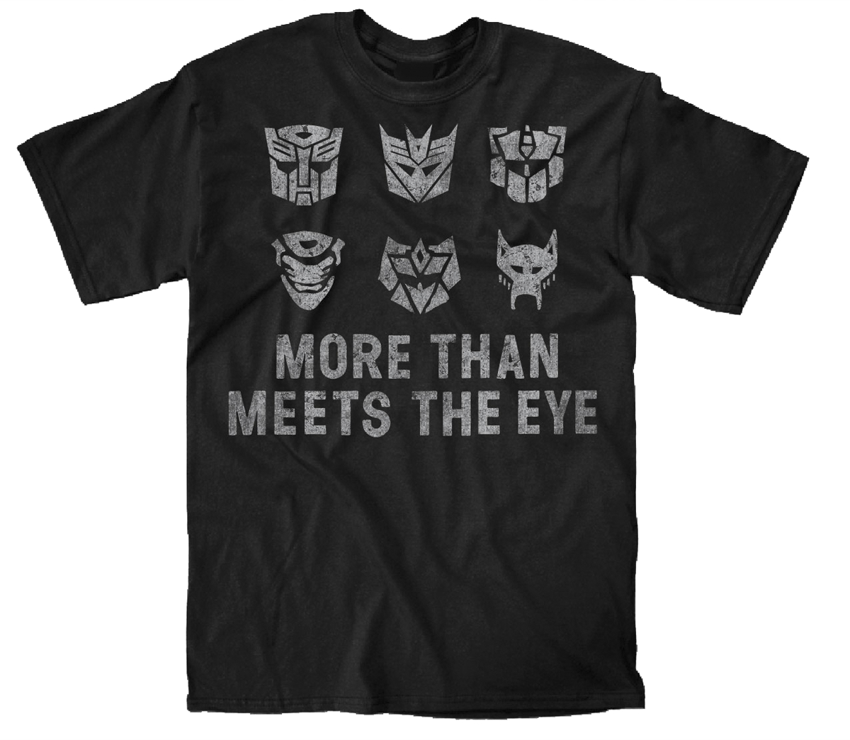 TRANSFORMERS MEETS THE EYE BLK T/S XXL