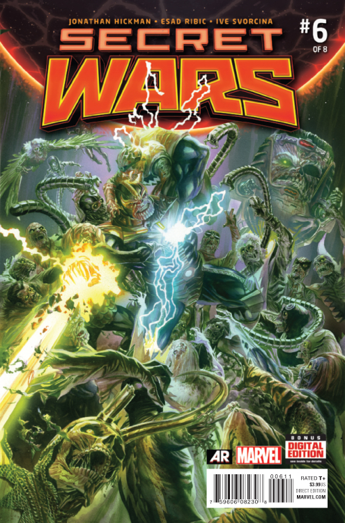 SECRET WARS #6 (OF 9) SWA