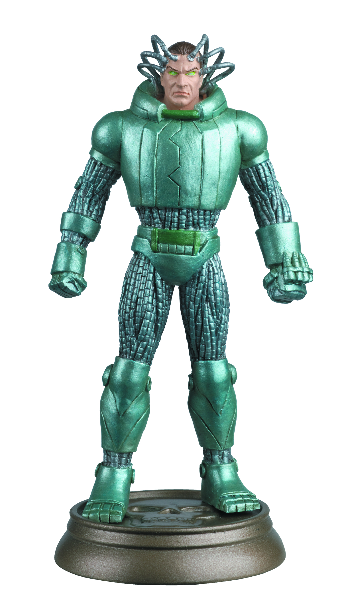 DC SUPERHERO CHESS FIG COLL MAG #92 METALLO BLACK PAWN
