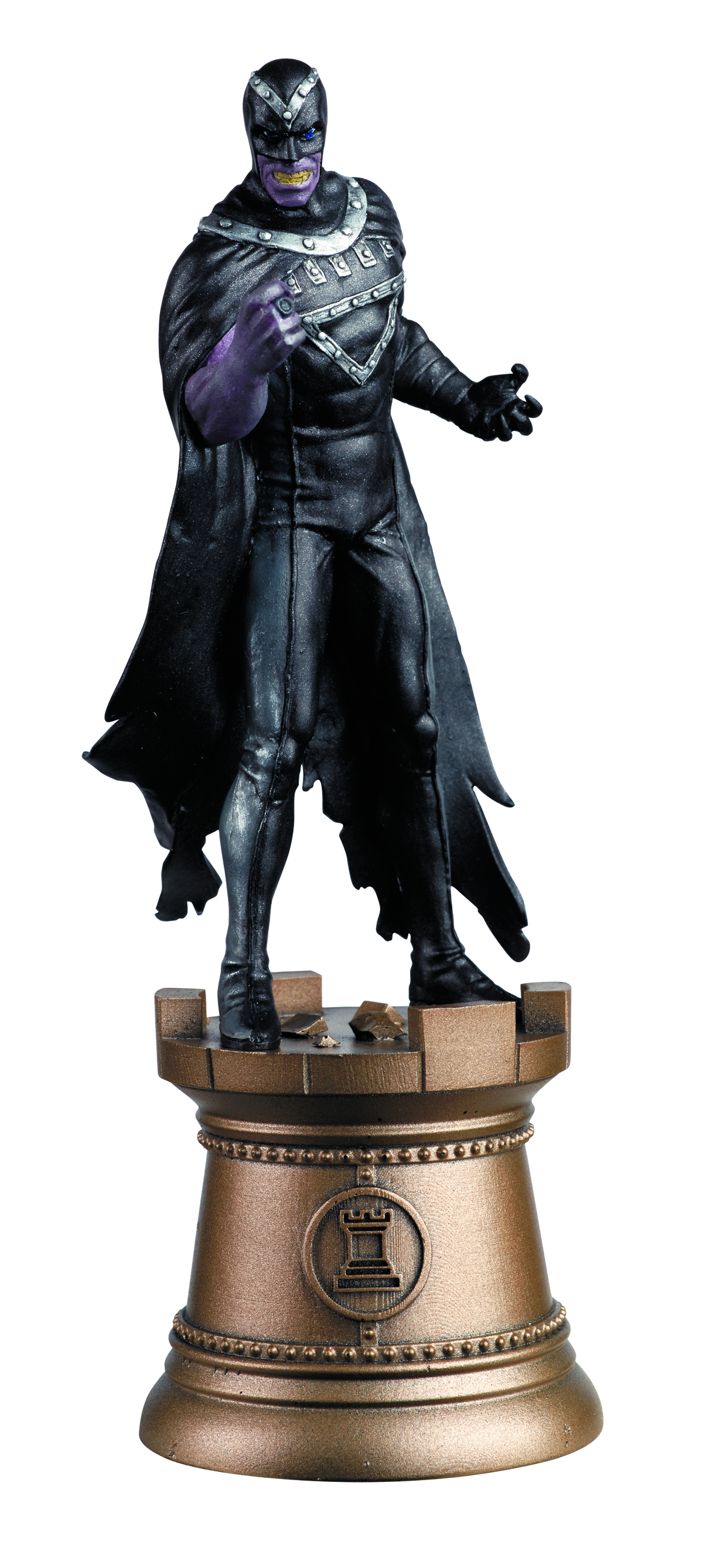 DC SUPERHERO CHESS FIG COLL MAG #94 BLACK HAND BLACK ROOK