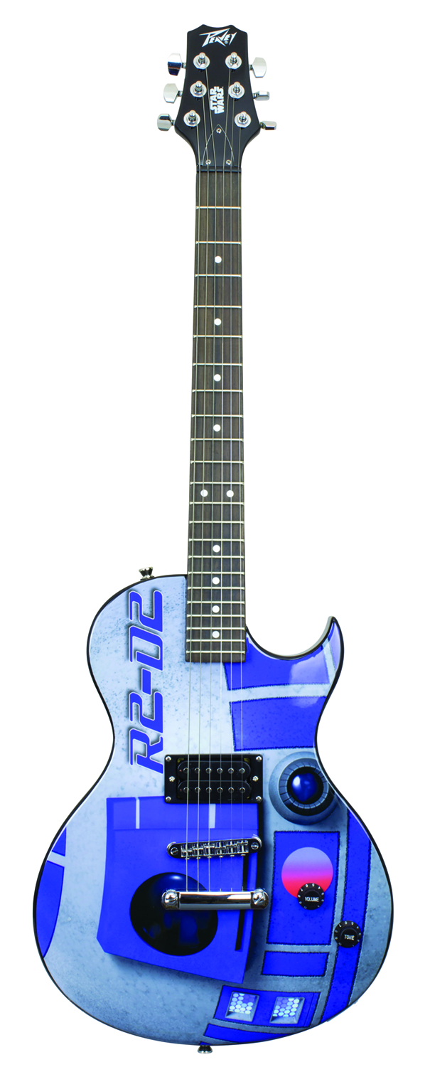 STAR WARS R2-D2 SINGLE CUT GUITAR