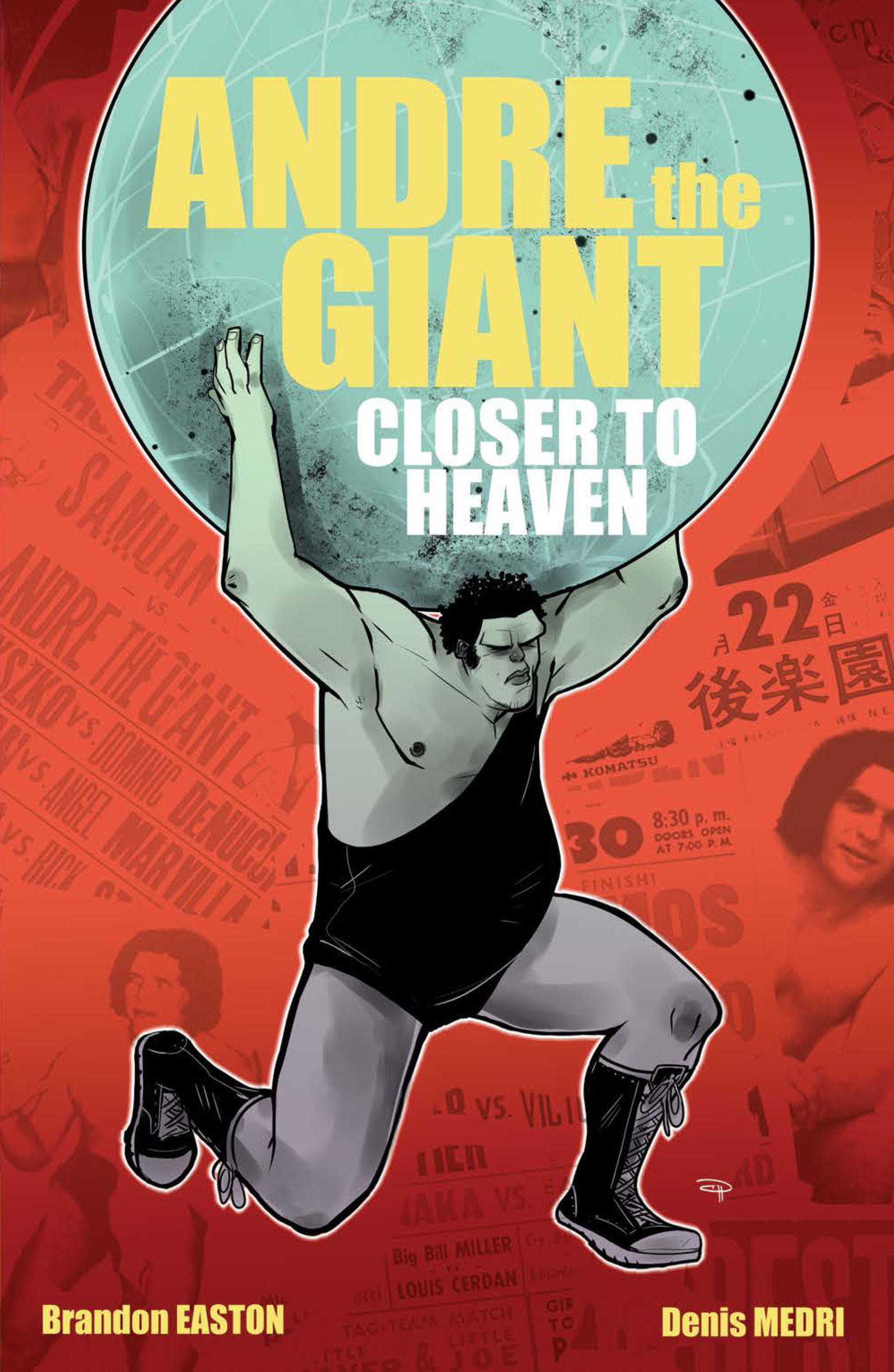 ANDRE THE GIANT GN CLOSER TO HEAVEN