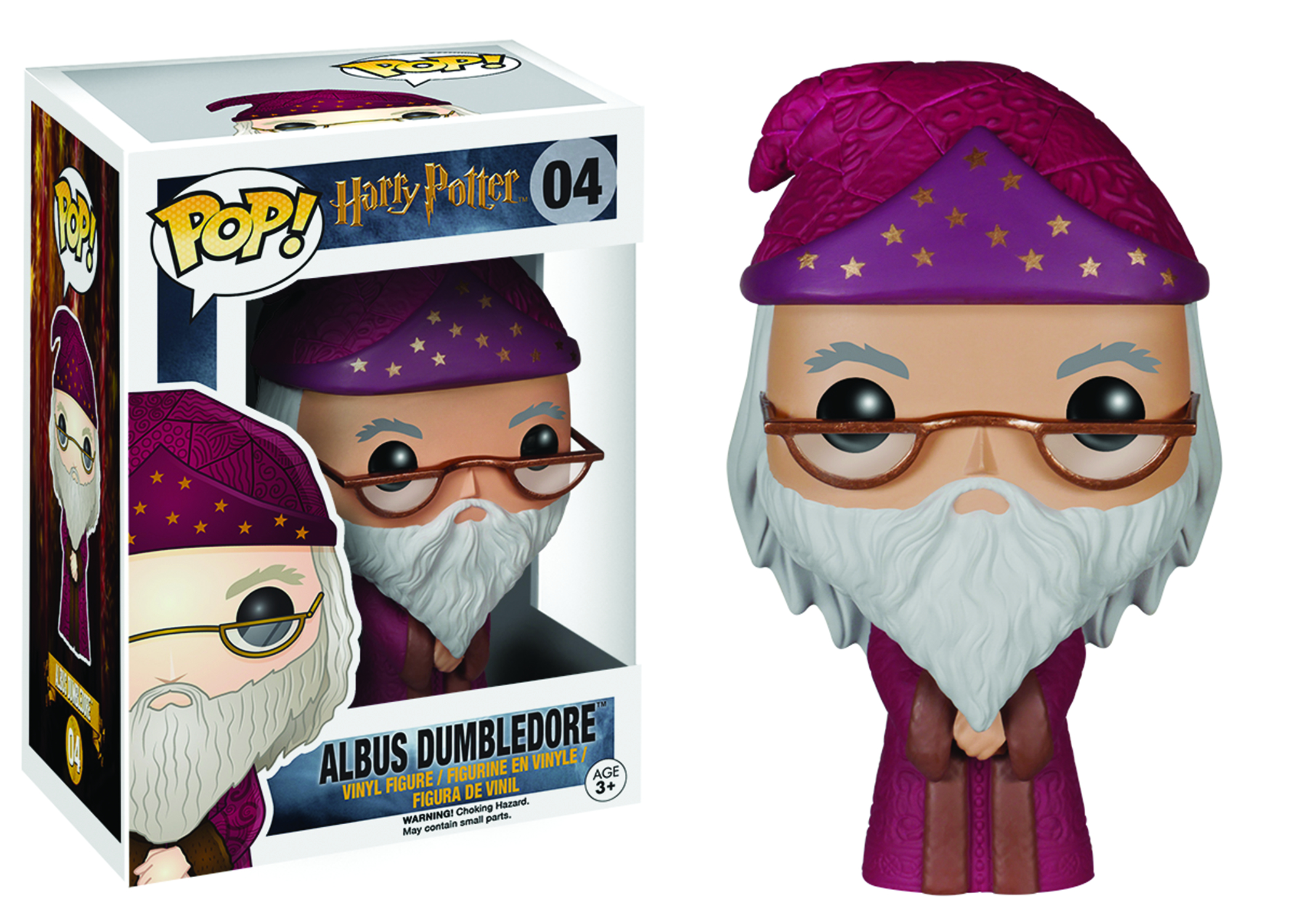 POP HARRY POTTER DUMBLEDORE VINYL FIG