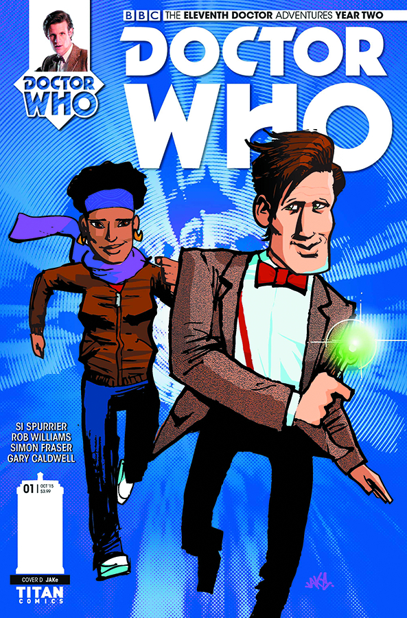 DOCTOR WHO 11TH YEAR TWO #1 JAKE VAR