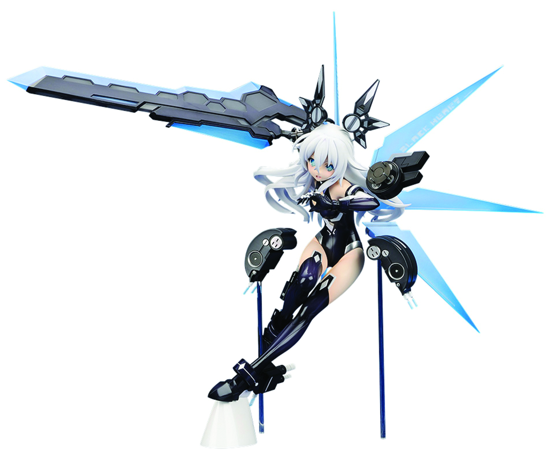 HYPERDIMENSION NEPTUNIA BLACK HEART 1/7 PVC FIG
