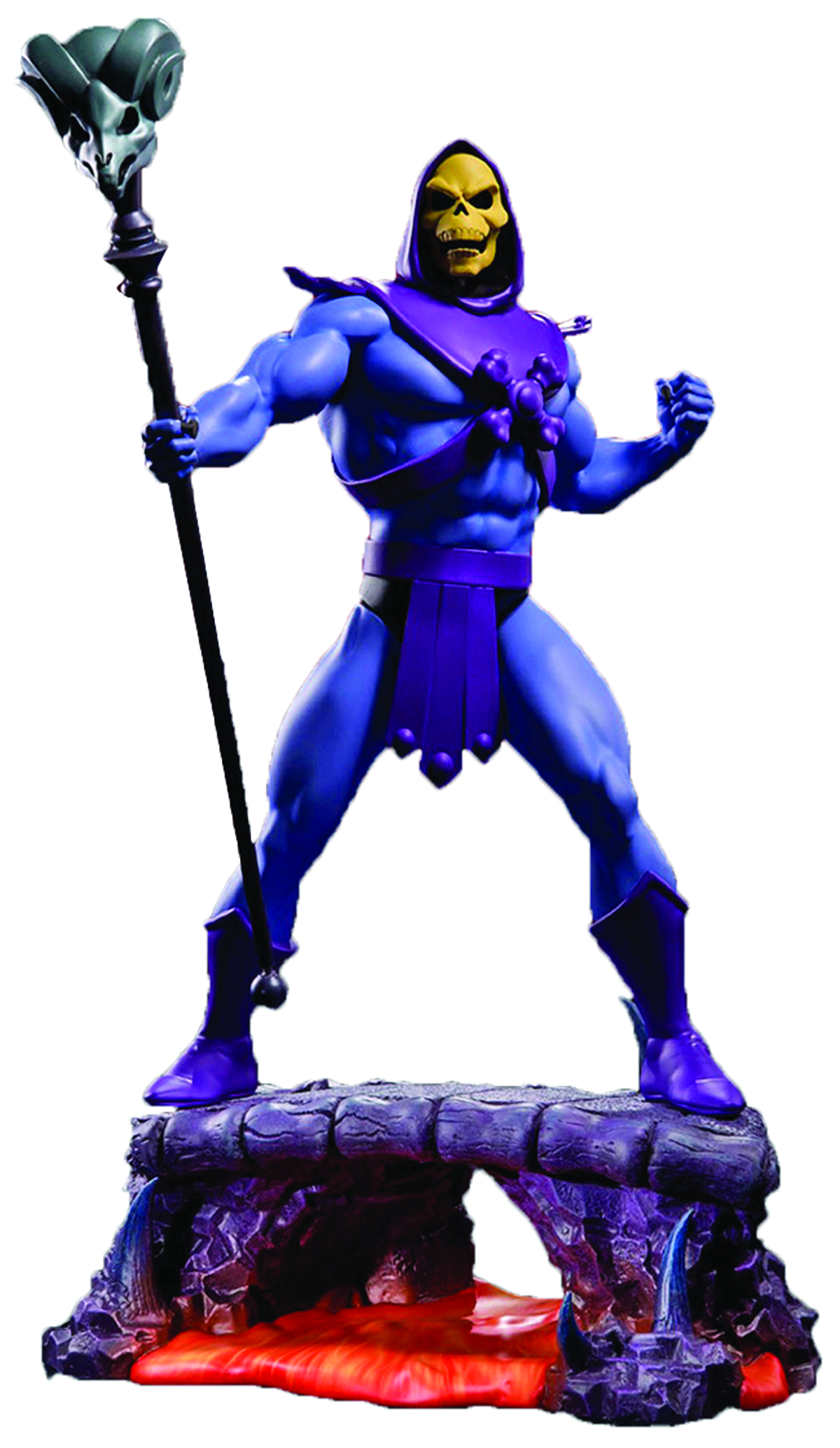 MASTERS O/T UNIVERSE SKELETOR 1/4 SCALE STATUE