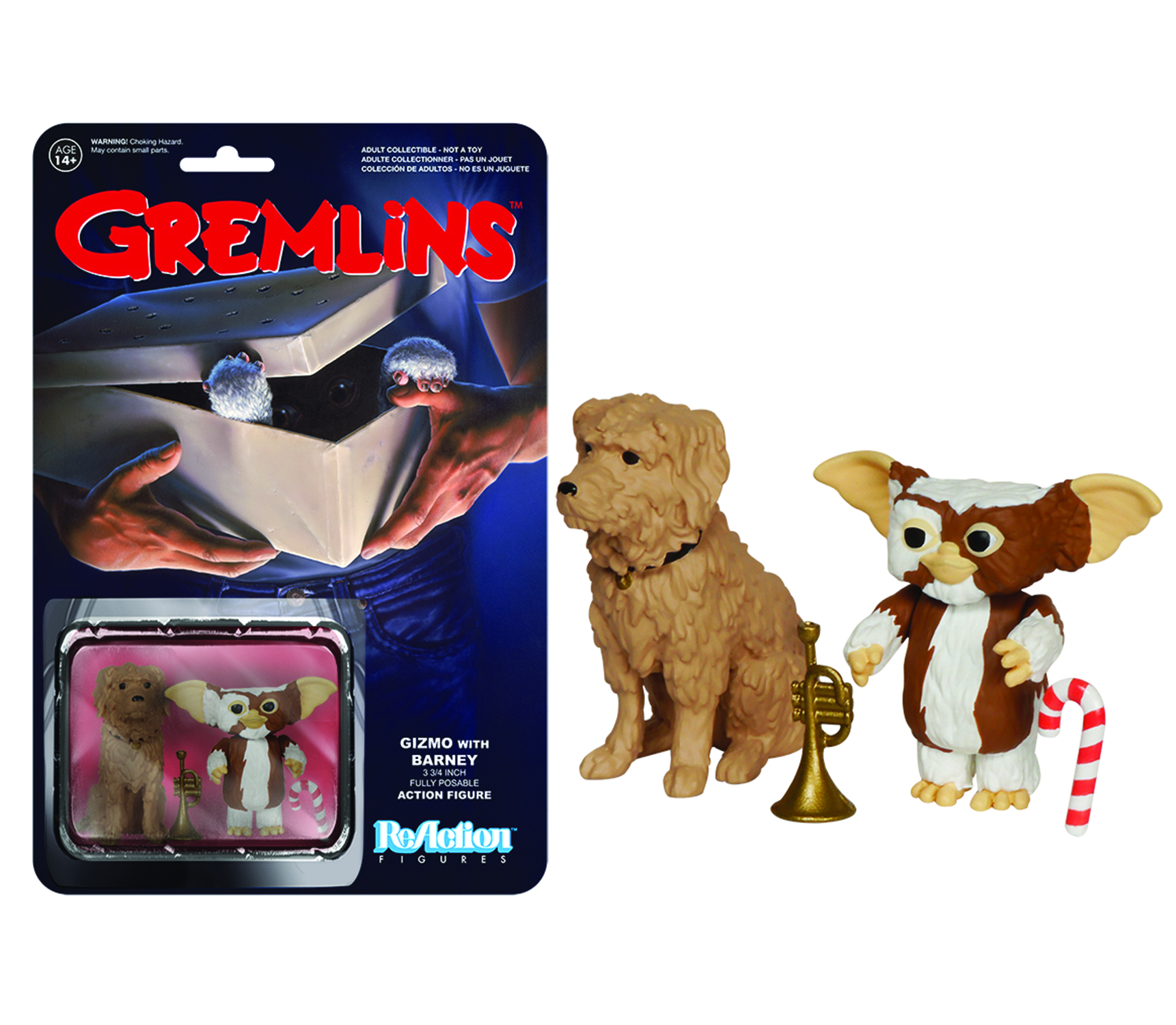 REACTION GREMLINS GIZMO FIG