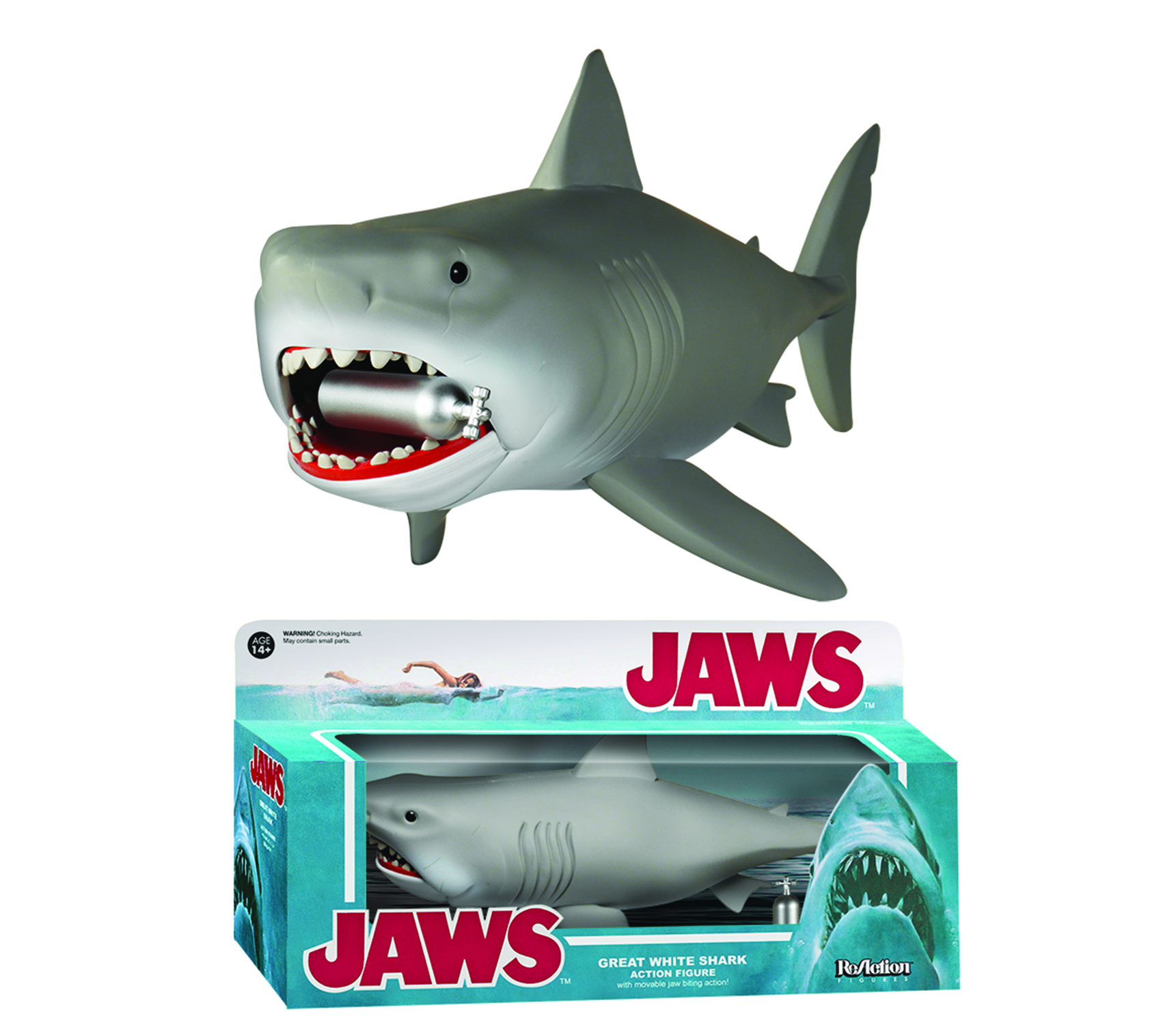 REACTION JAWS SHARK 10IN FIG
