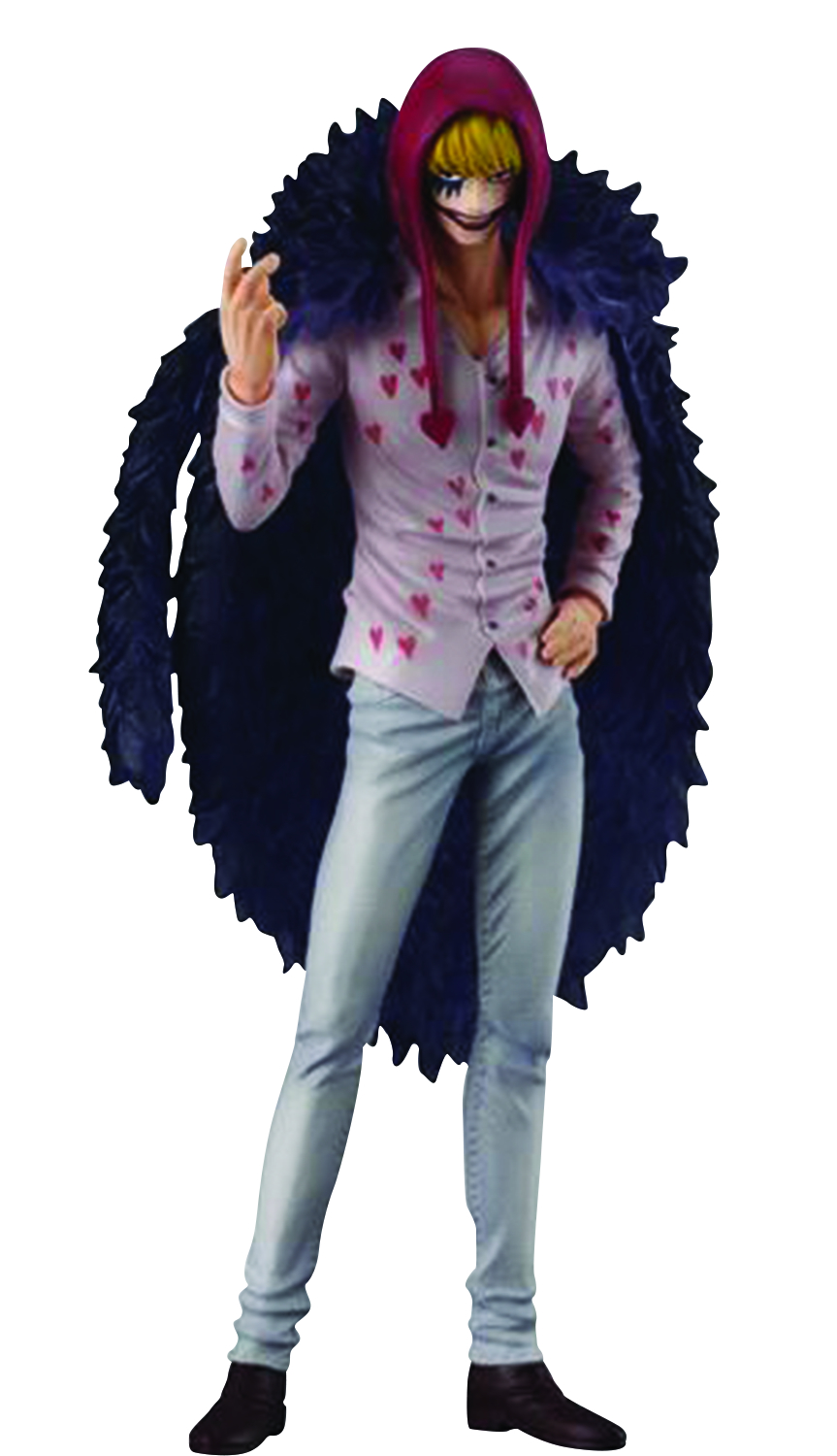SUPER ONE PIECE STYLING TRIGGER CORAZON FIG